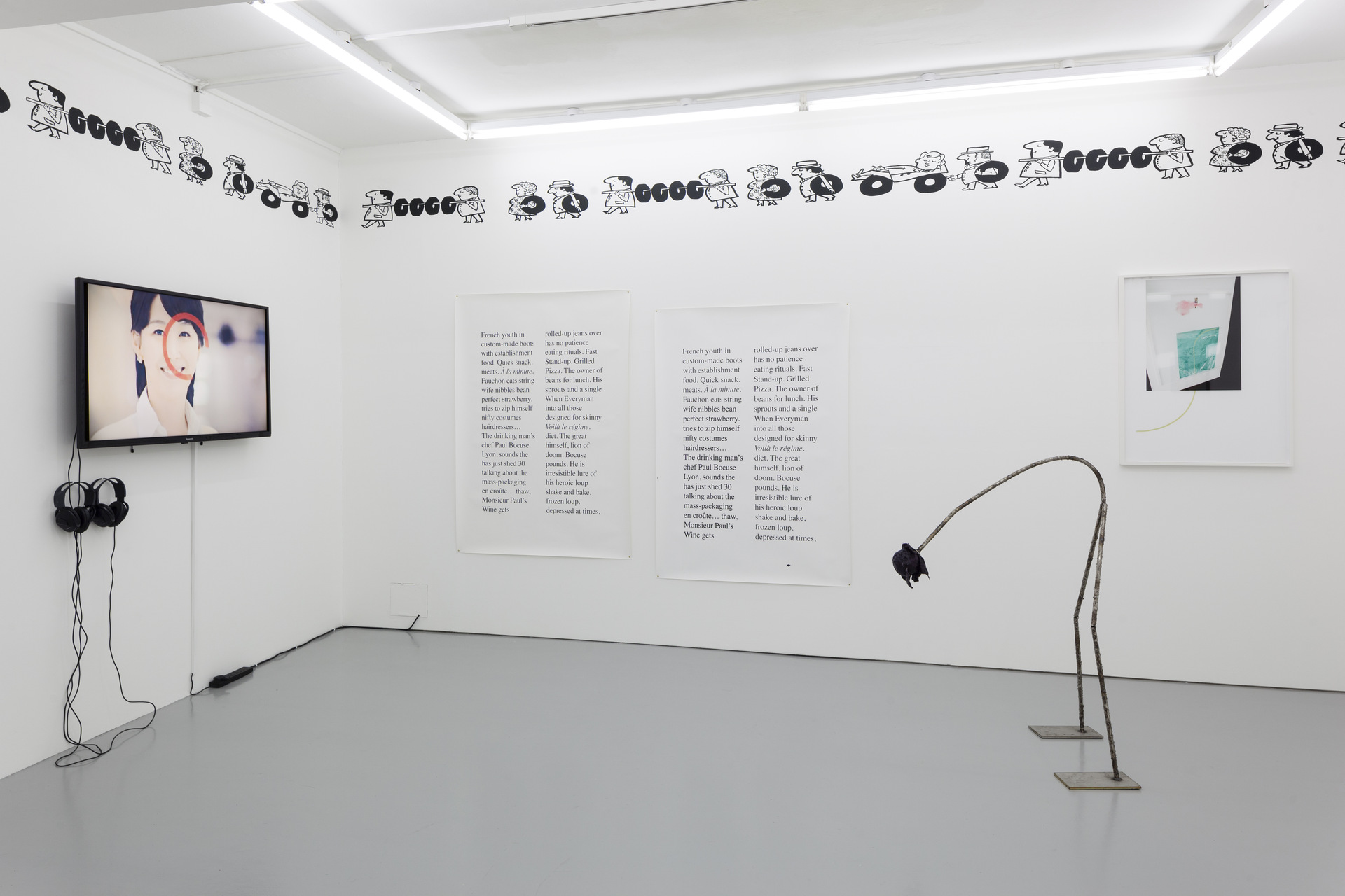 M'm! M'm! Good!, installation view, Rowing, London, 2015.jpg - 1