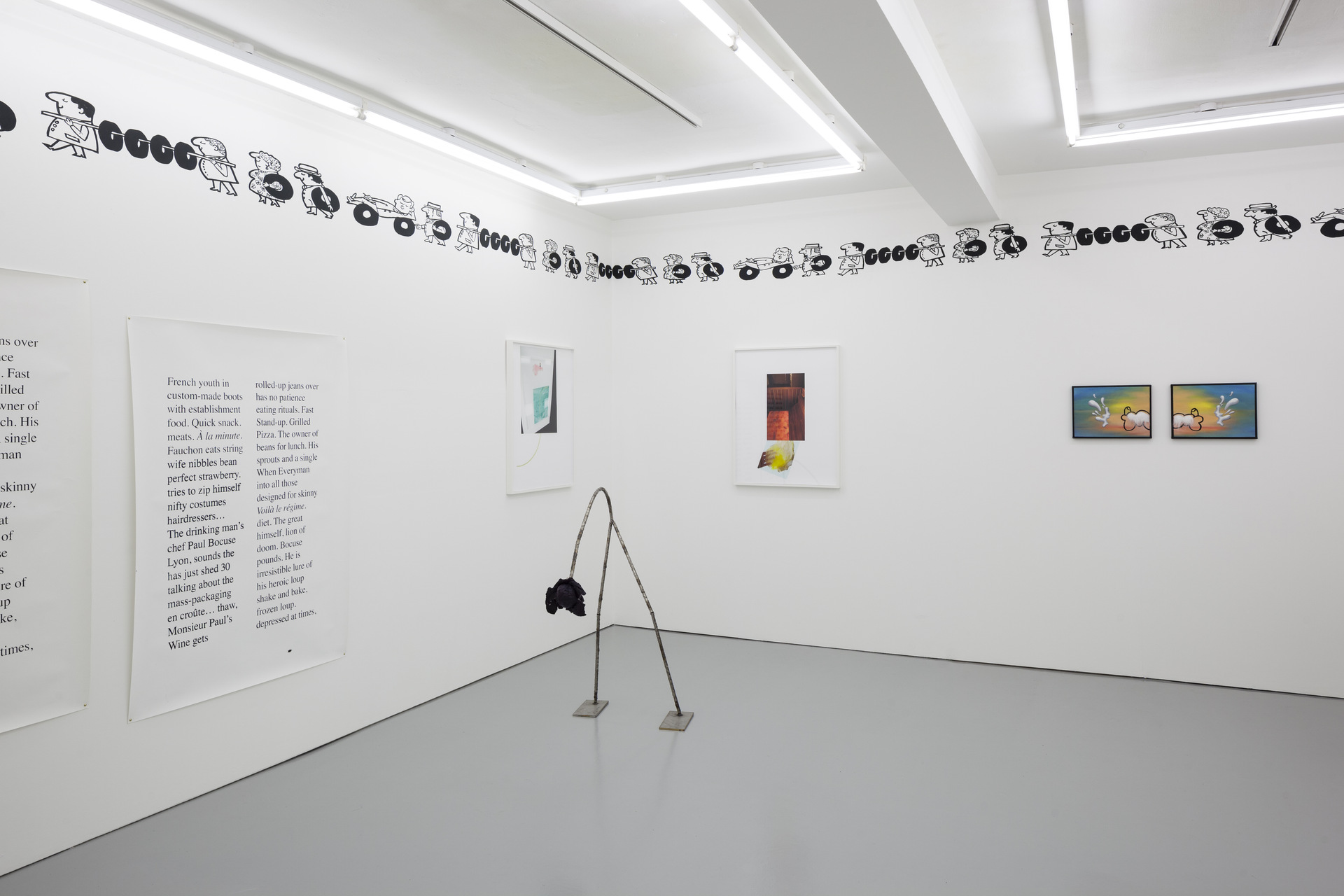 M'm! M'm! Good!, installation view, Rowing, London, 2015.jpg - 2