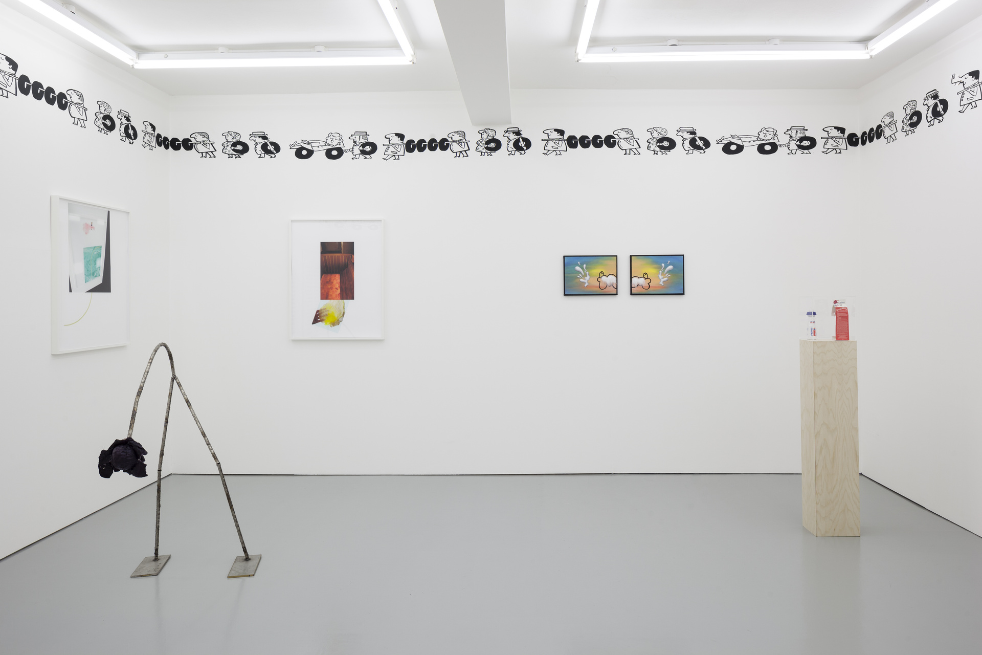 M'm! M'm! Good!, installation view, Rowing, London, 2015.jpg - 3