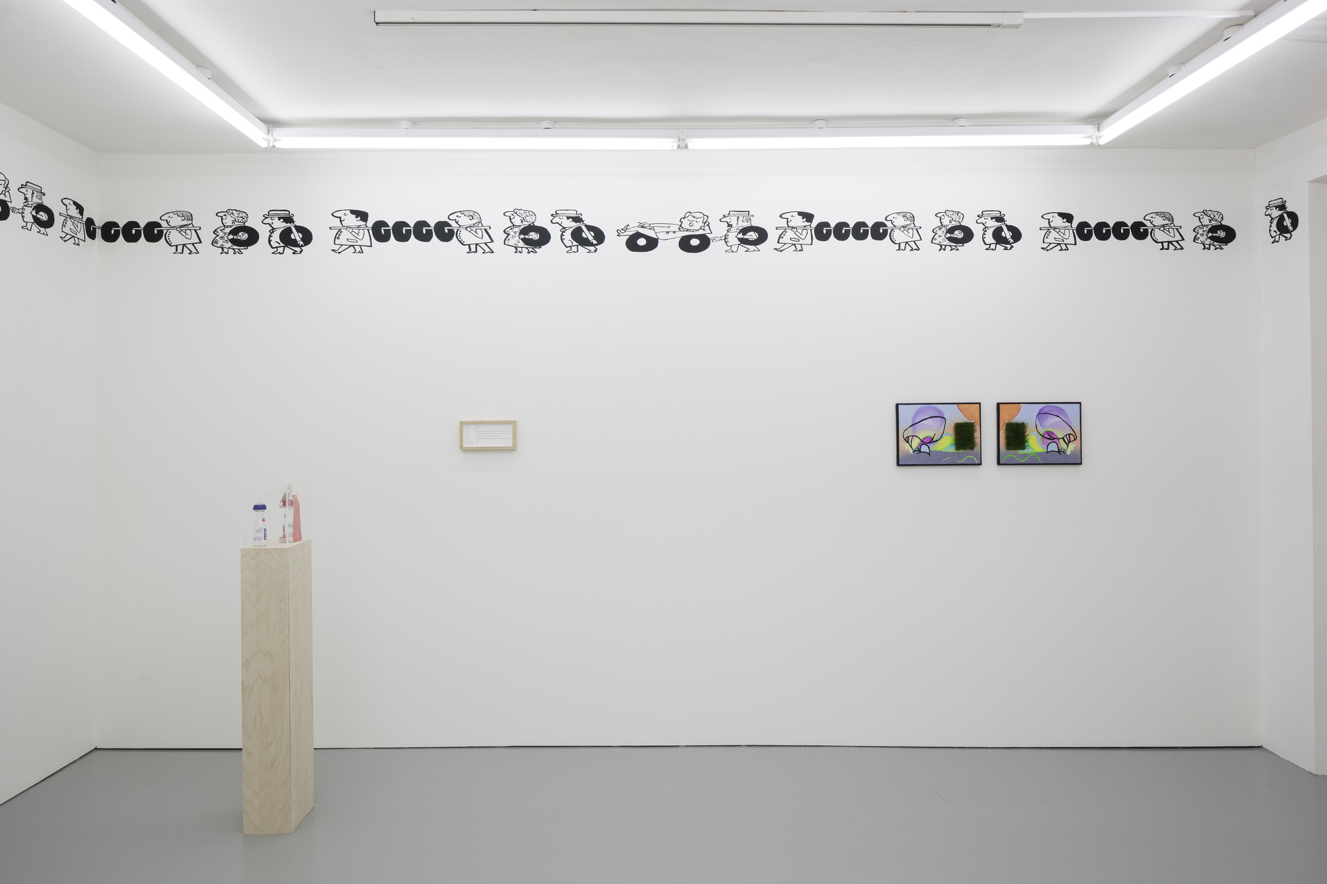 M'm! M'm! Good!, installation view, Rowing, London, 2015.jpg - 4