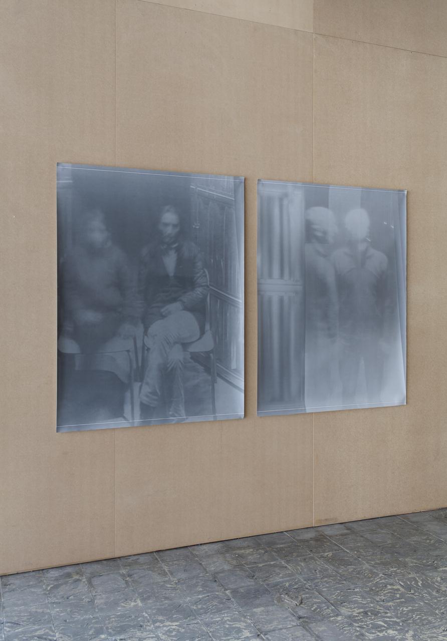 Fabio Sandri, 'Autoritratti di Tempi Lunghi ', 2010-2011, in 'The Camera's Blind Spot II', installation view, Extra City Kunsthal, 2015 © We Document Art