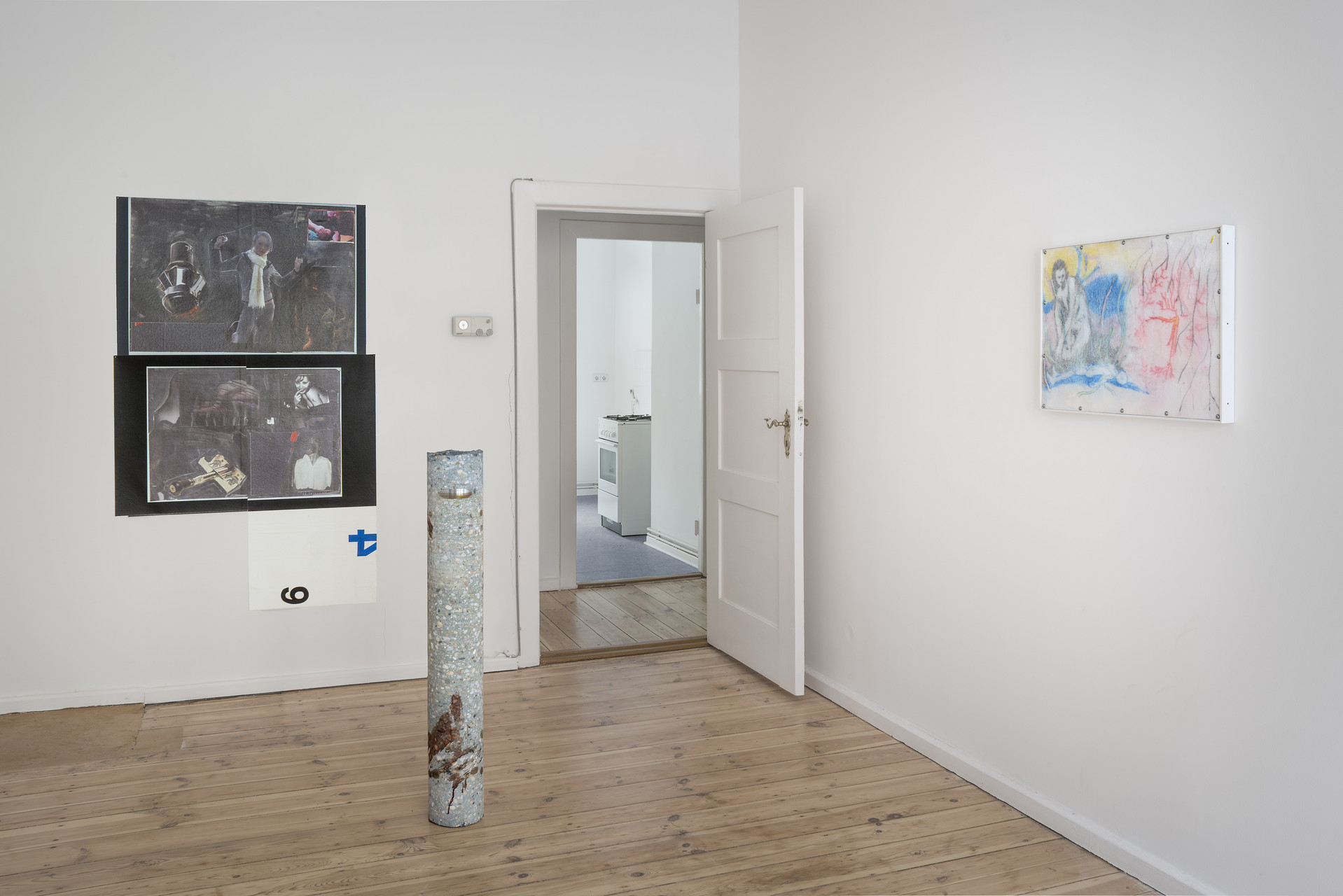 Installation view_Softer Than Stone And Sick in your Mind_2015_Photo Credit_Joachim Schulz_Courtesy_Croy Nielsen_1