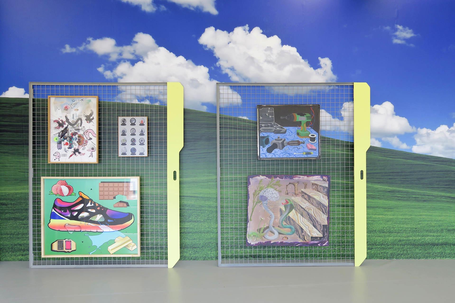 2. installation view, SABOT, Liste 2015
