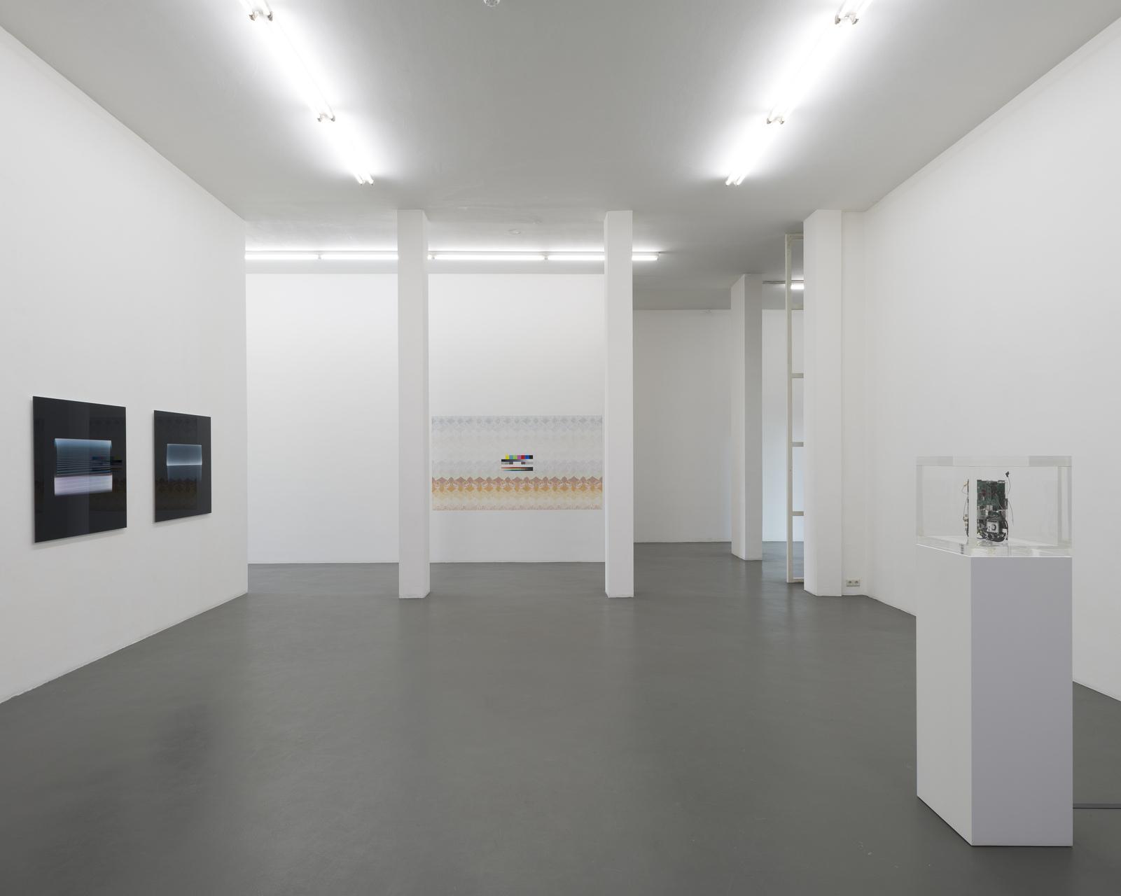 22_Installation view, Navine G. Khan-Dossos, Stephan Tillmans, Trevor Paglen, Jacob Appelbaum
