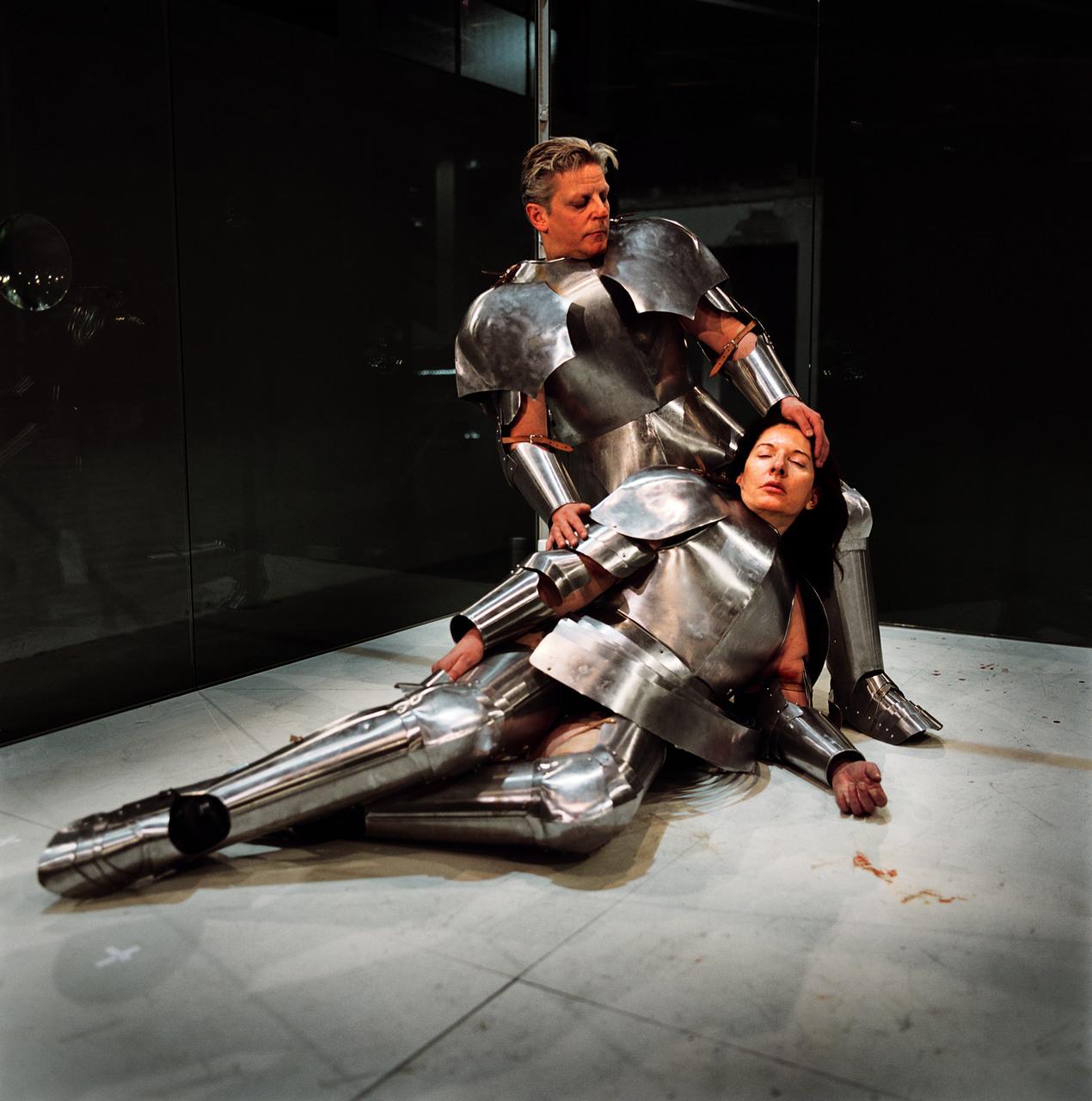 Jan_Fabre,_Virgin_Warrior,_2006,_Musée_dArt_Contemporain_Lyon,_Angelos,_Collection_M_HKA