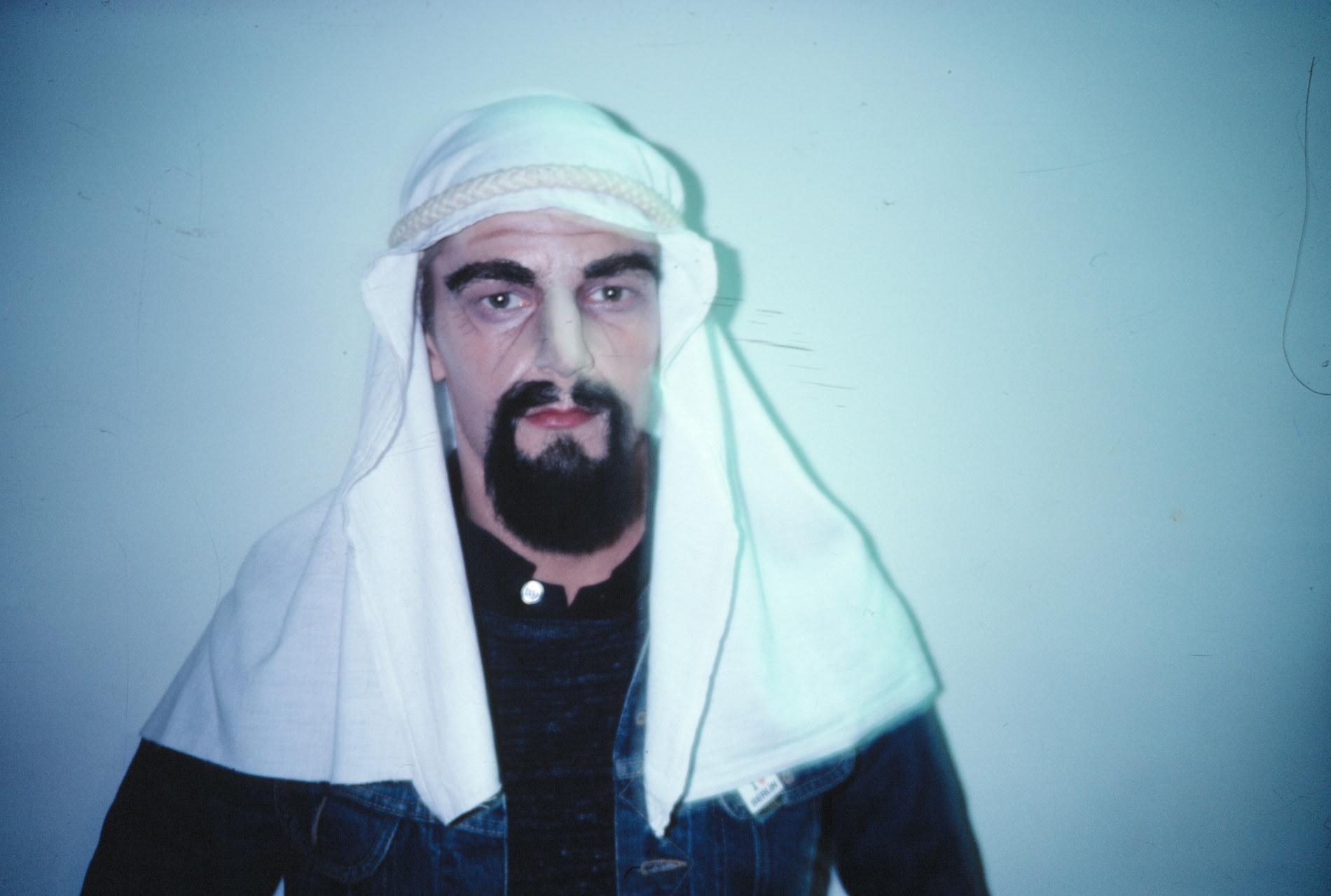 Jan_Fabre,_The_Arabian_Prince,_1978_collection_M_HKA