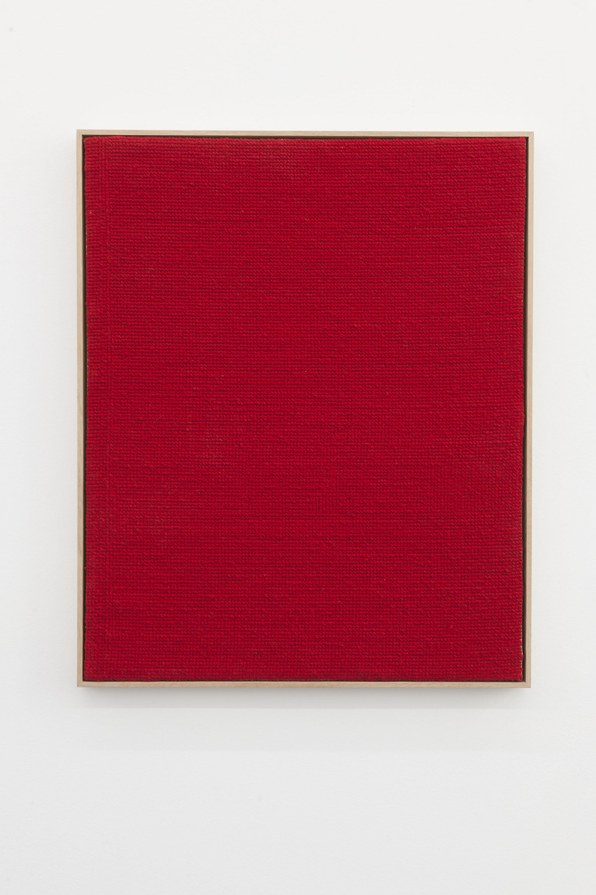 Alek O_2013_Red_87.5x72cm_embroidery on canvas, framed_2015-ao-07