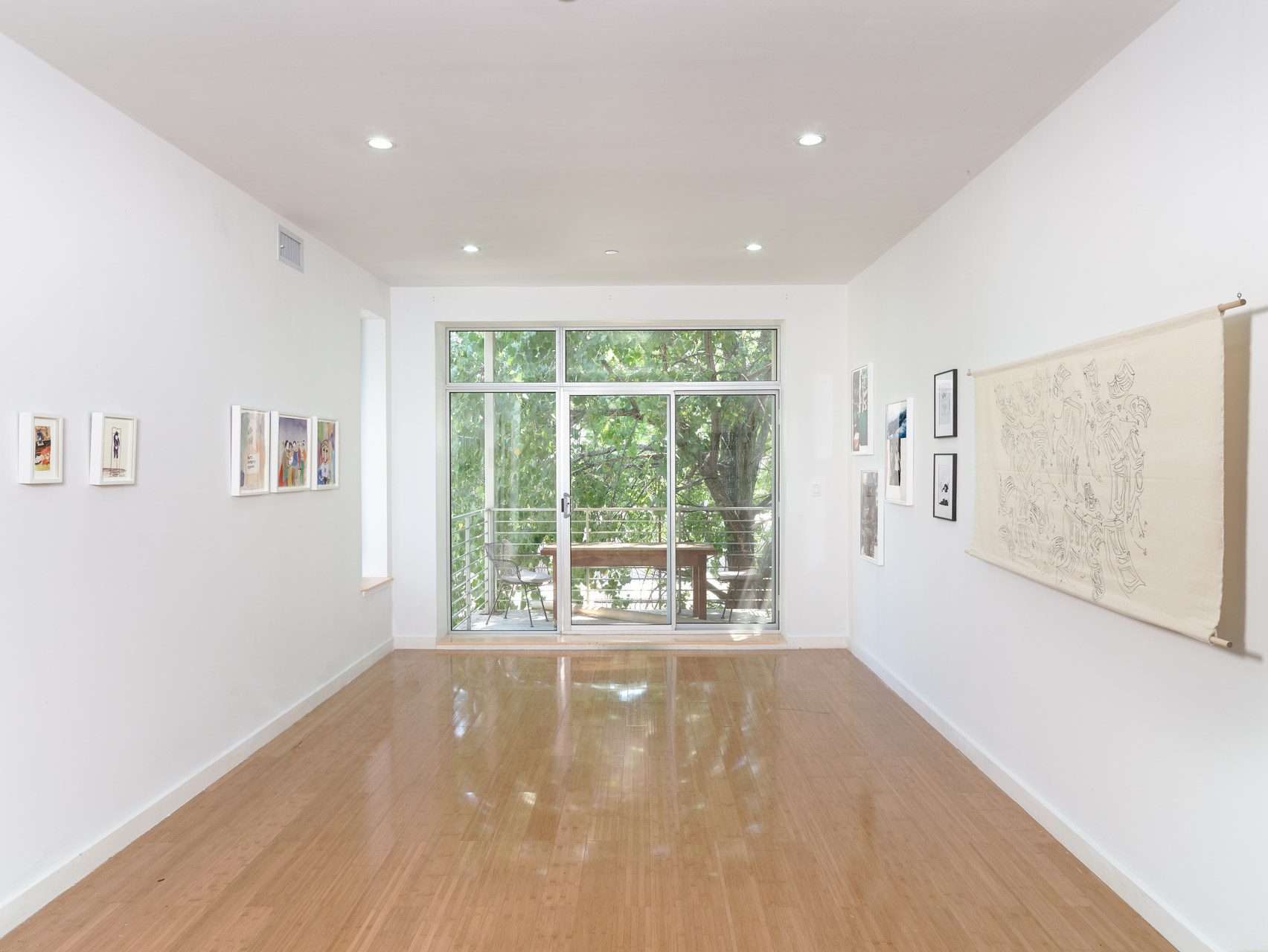 1 - Installation View