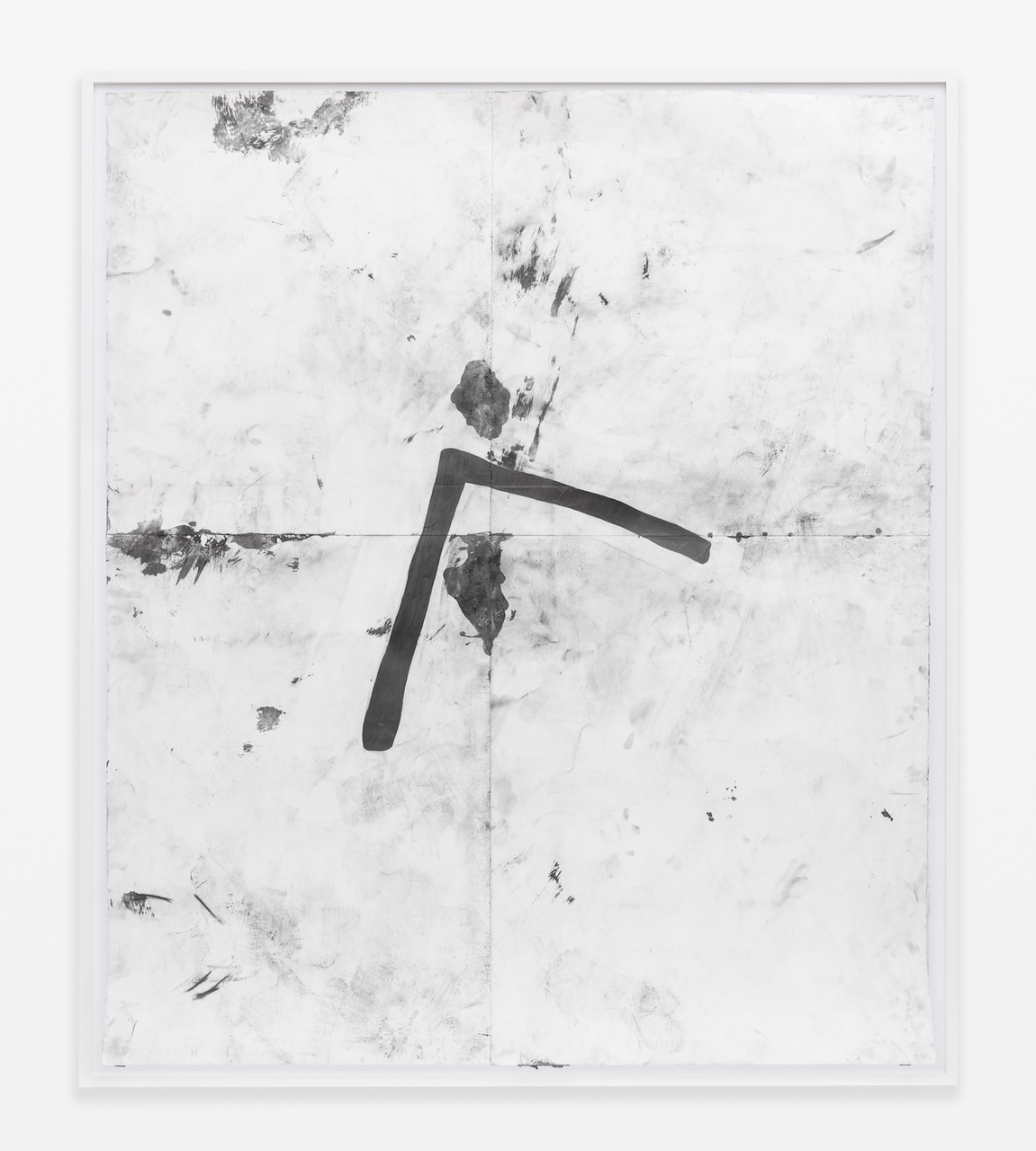 16.Lewis_Chunk, 2015_Pencil, graphite powder, and tape on paper_83.75 x 71.5 inches