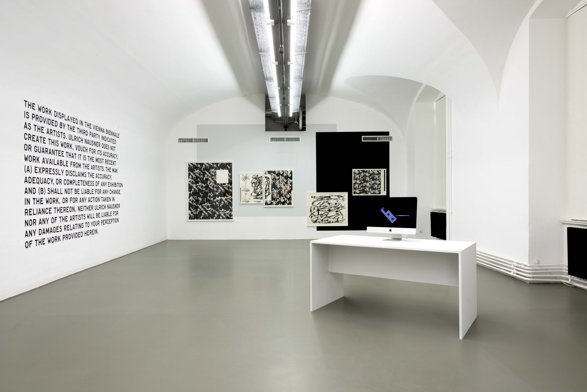 4 exhibition view  Ulrich Nausner Peter Jellitsch Harm van den Dorpel -®AslanKudrnofsky_NIK0333