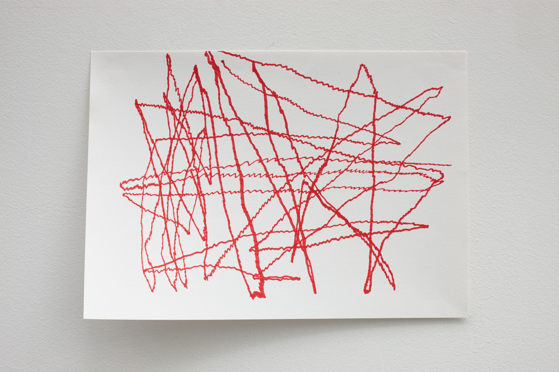 Cindie Cheung - Wireless Drawing, 2015