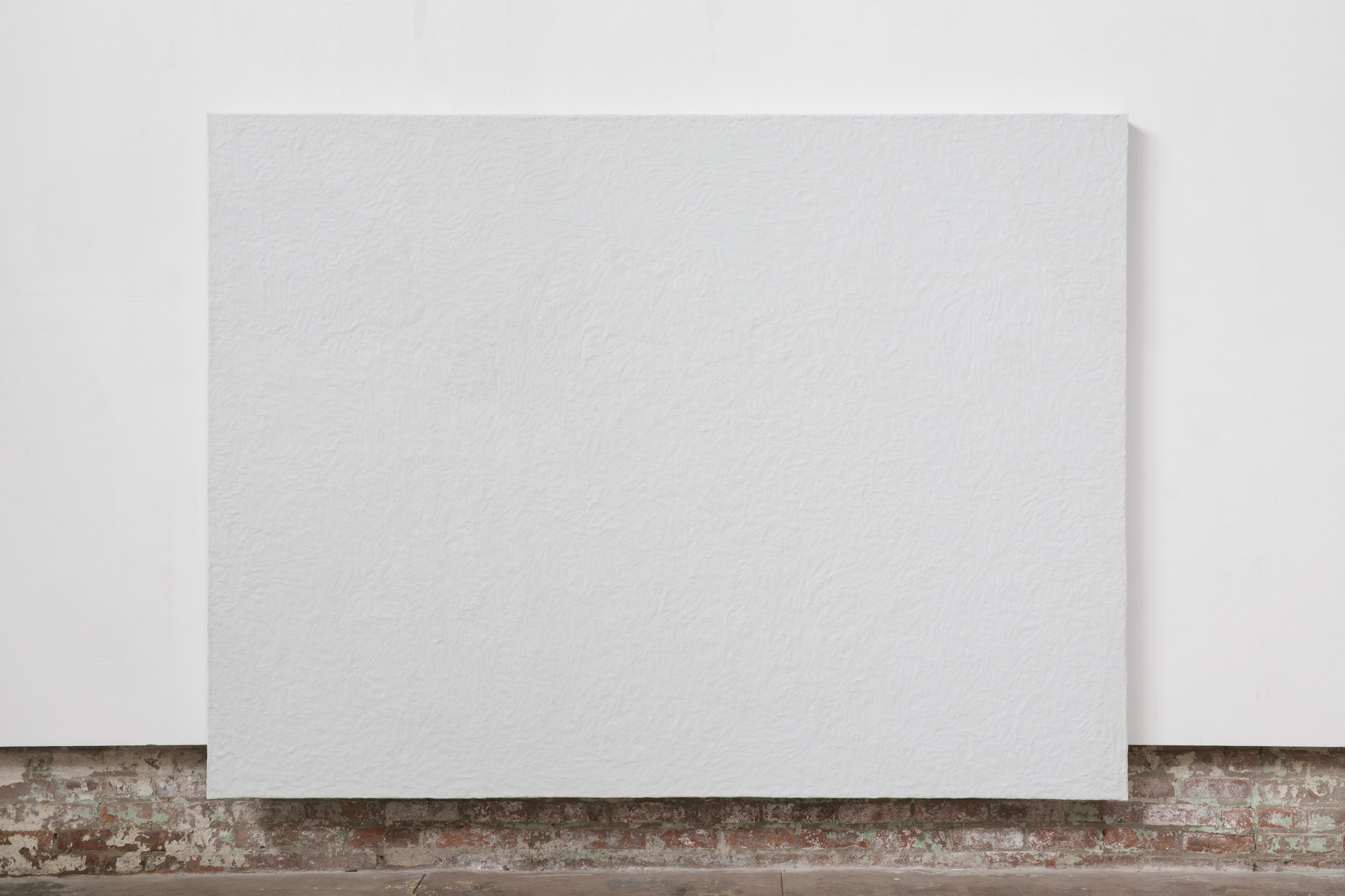 Nick Fusaro Untitled (White Canvas) (2)