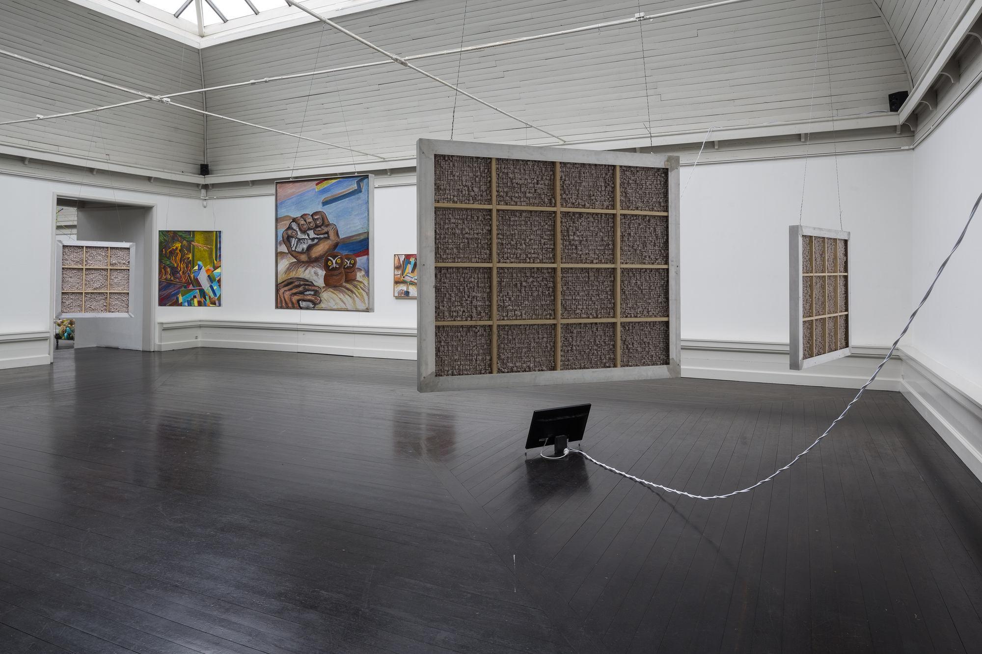 Steinar Haga Kristensen. Installationview. credit Torben Ekserod