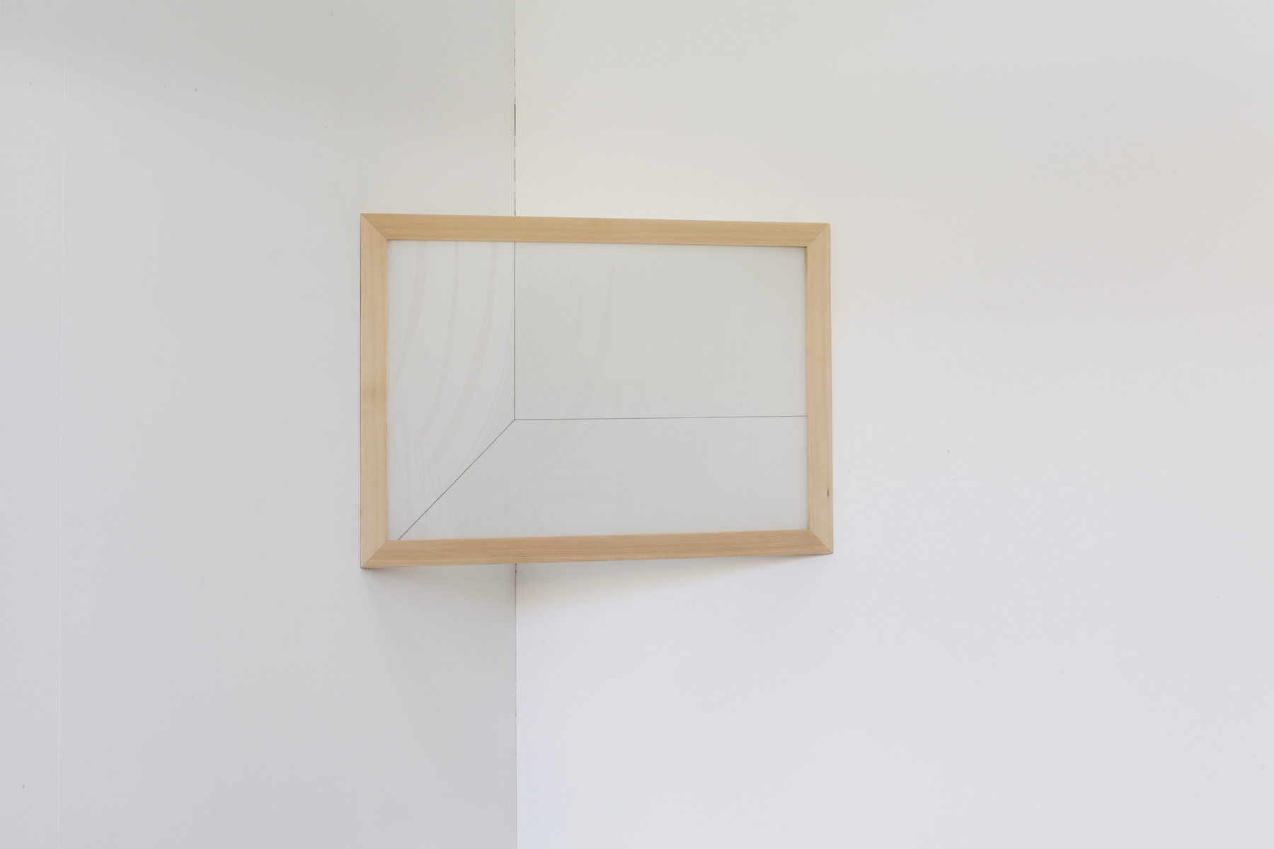 Josiah McElheny, 'Corner for Blinky Palermo', 2015, in 'The Corner Show', installation view, Extra City Kunsthal, 2015 © We Document Art