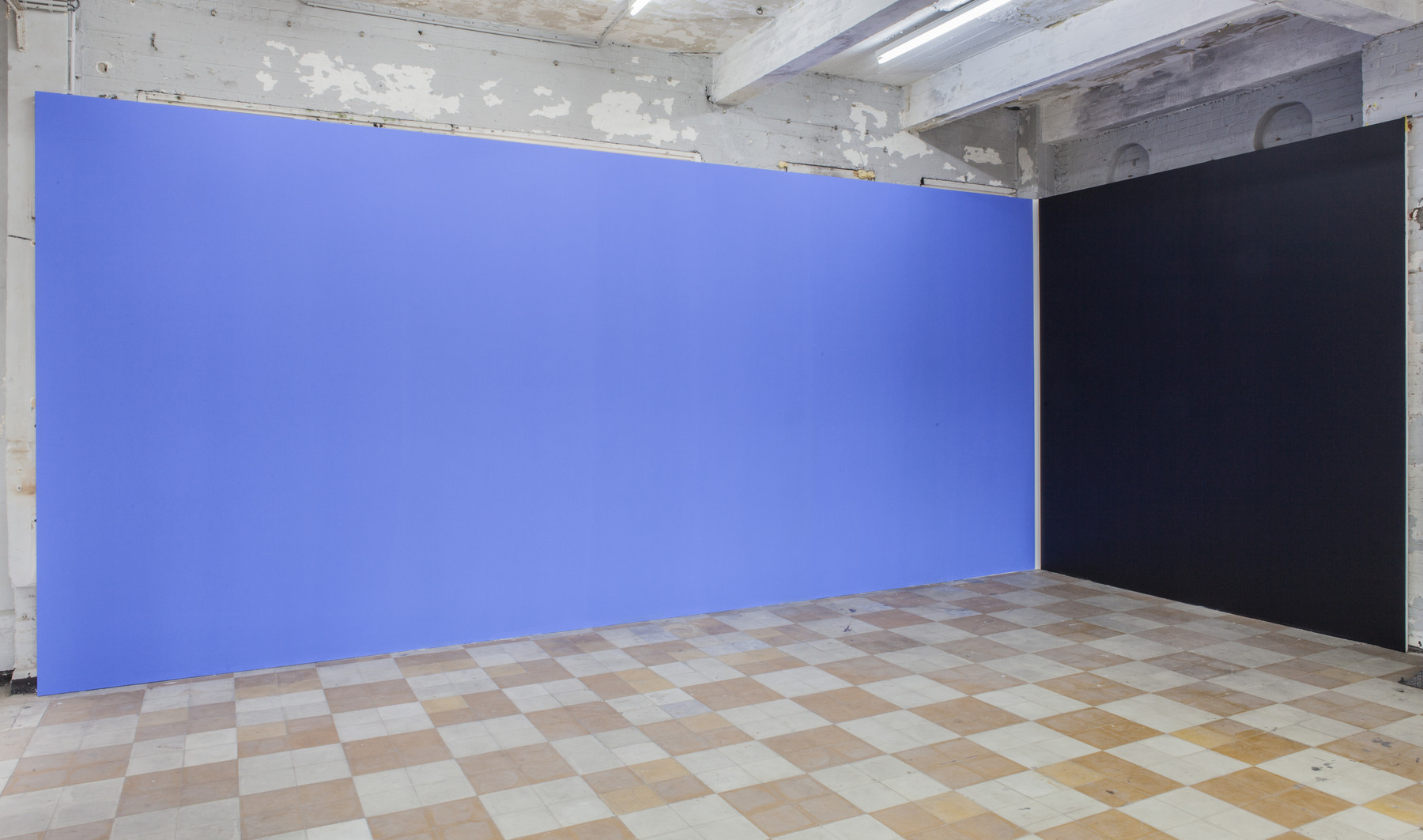 Philippe Van Snick, 'Dag Nacht', 1987, in 'The Corner Show', installation view, Extra City Kunsthal, 2015 © We Document Art