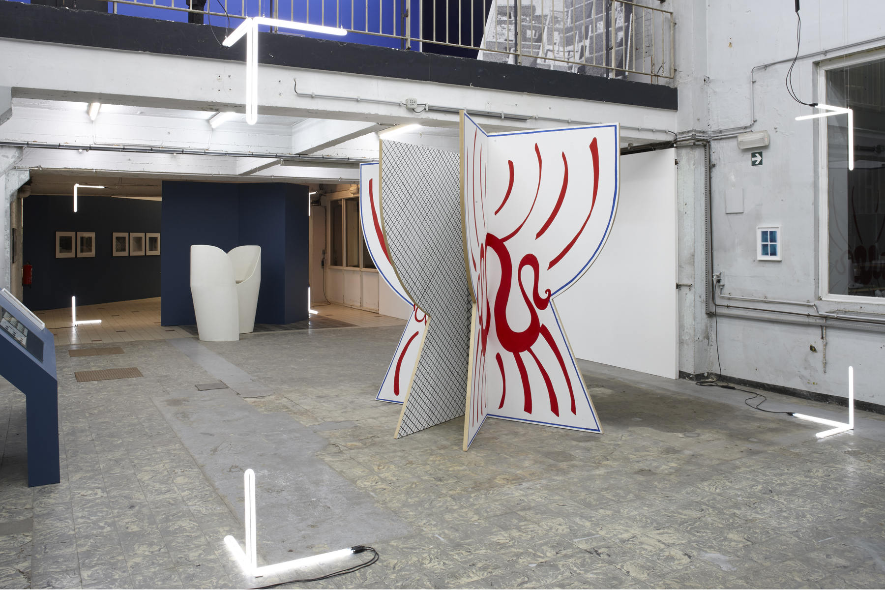 'The Corner Show', installation view, Extra City Kunsthal, 2015 © Jan Kempenaers283