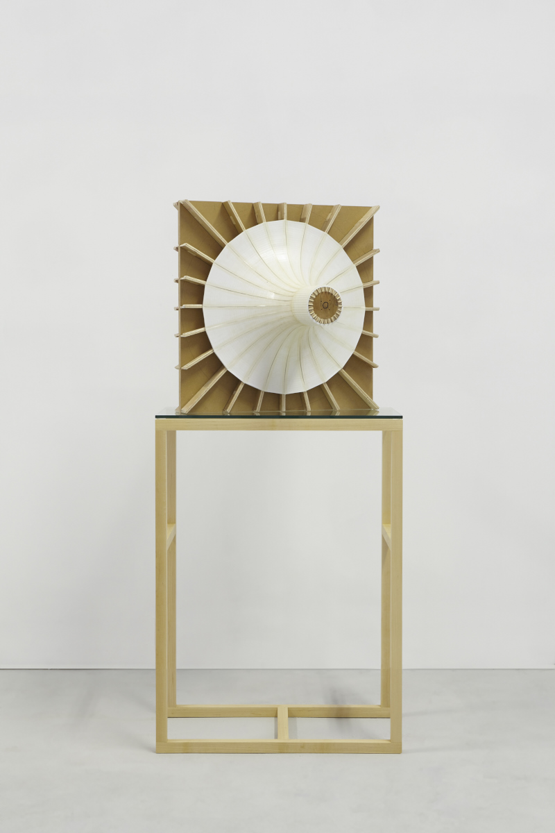 51.Hoeber_Negative Space of Organ (Core), 2015_Sculpture-OSB