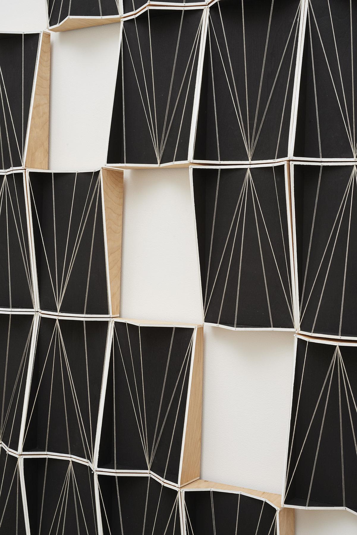 72.Hoeber_Going Nowhere Vector Model, Bas Relief Tile, Second Level Complexity, Negative Spaces, 2015