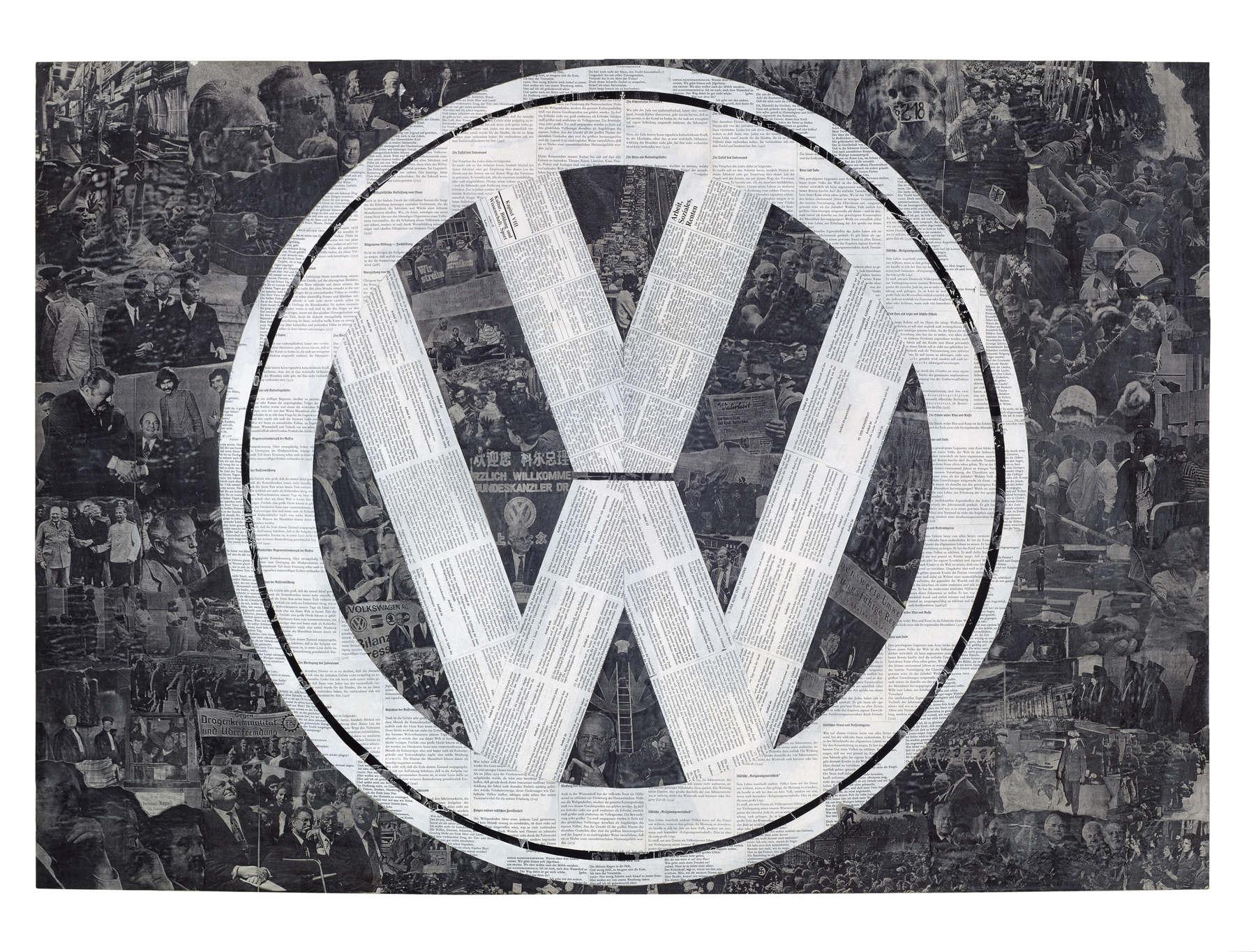 Marcel-Odenbach-Deutsches_Symbol_VW_1994