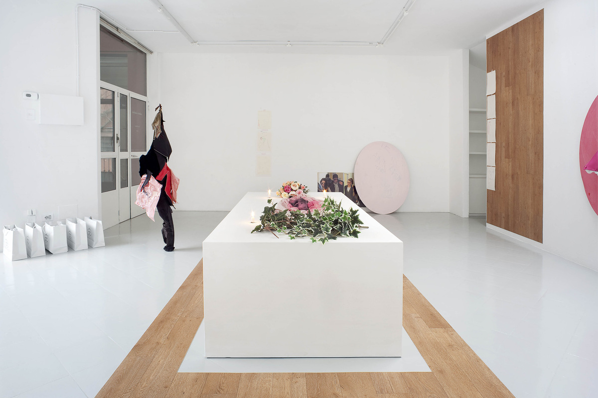 16 - Yves Scherer, Installation view, 2015 - Courtesy Studiolo, Milan - Photo Filippo Armellin