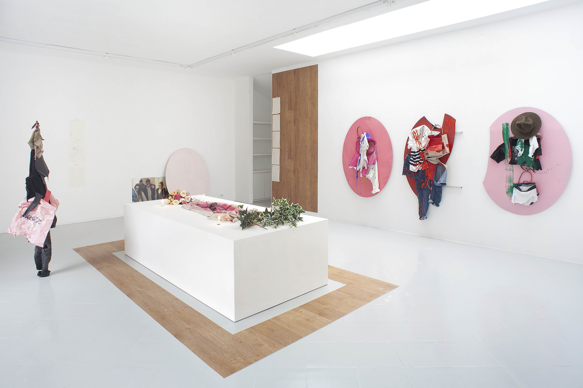 3 - Yves Scherer, Installation view, 2015 - Courtesy Studiolo, Milan - Photo Filippo Armellin