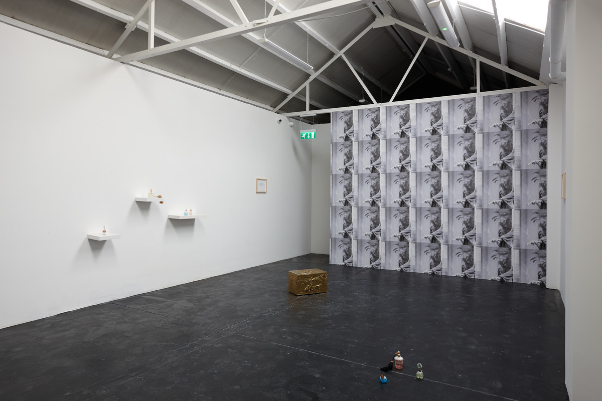 Siera Hyte - The sometimes hour - Ellis King - Installation View I