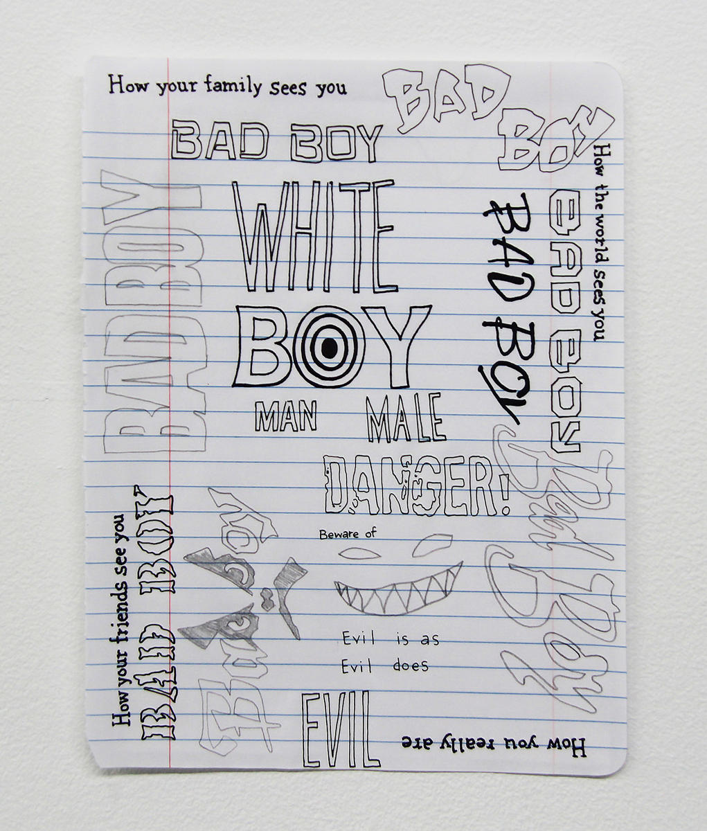 Brandon Drew Holmes_Pensive Drawings Fuck white Boys 2