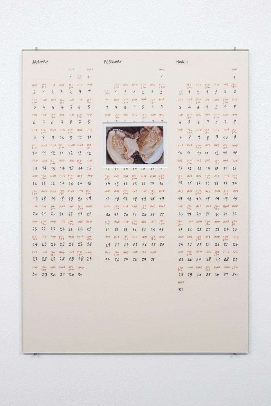Raffaella Crispino_Tokyo-San Francisco_Calendar 1