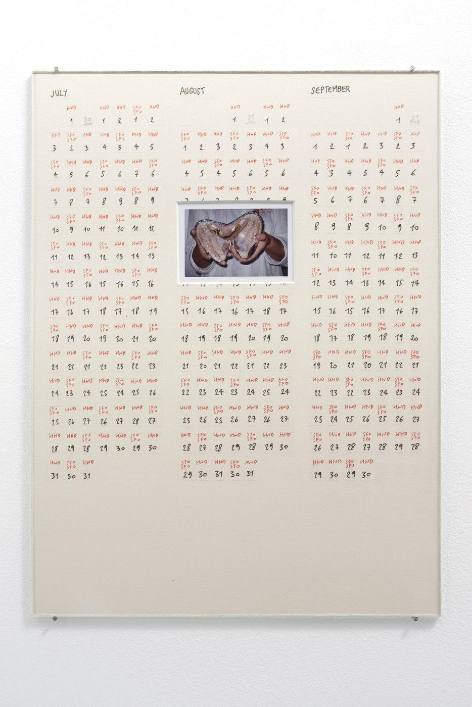 Raffaella Crispino_Tokyo-San Francisco_Calendar 3