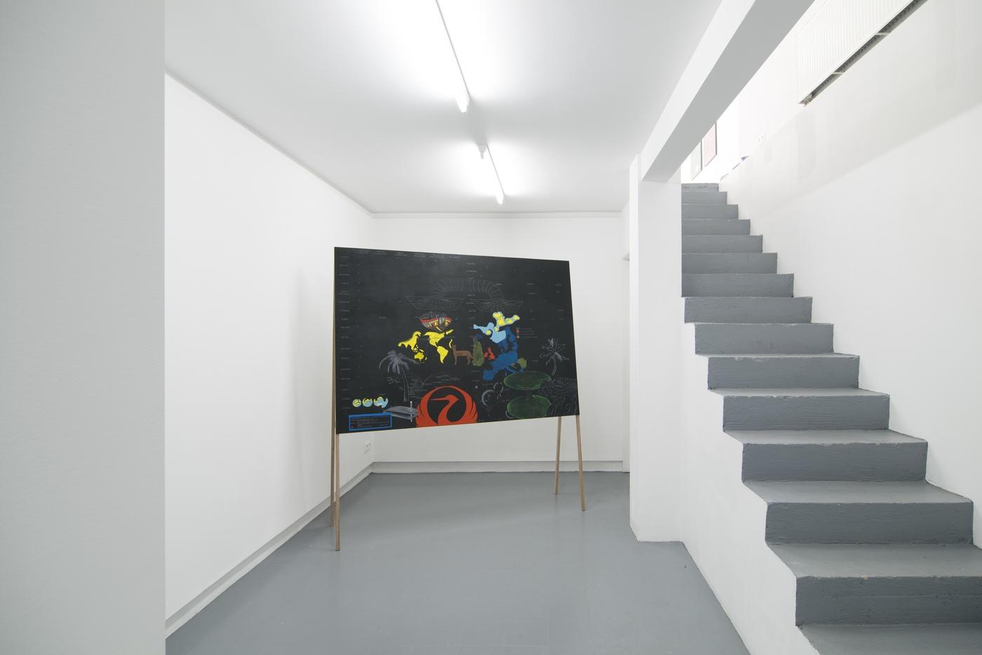 Raffaella Crispino_Tokyo-San Francisco_installation view 1