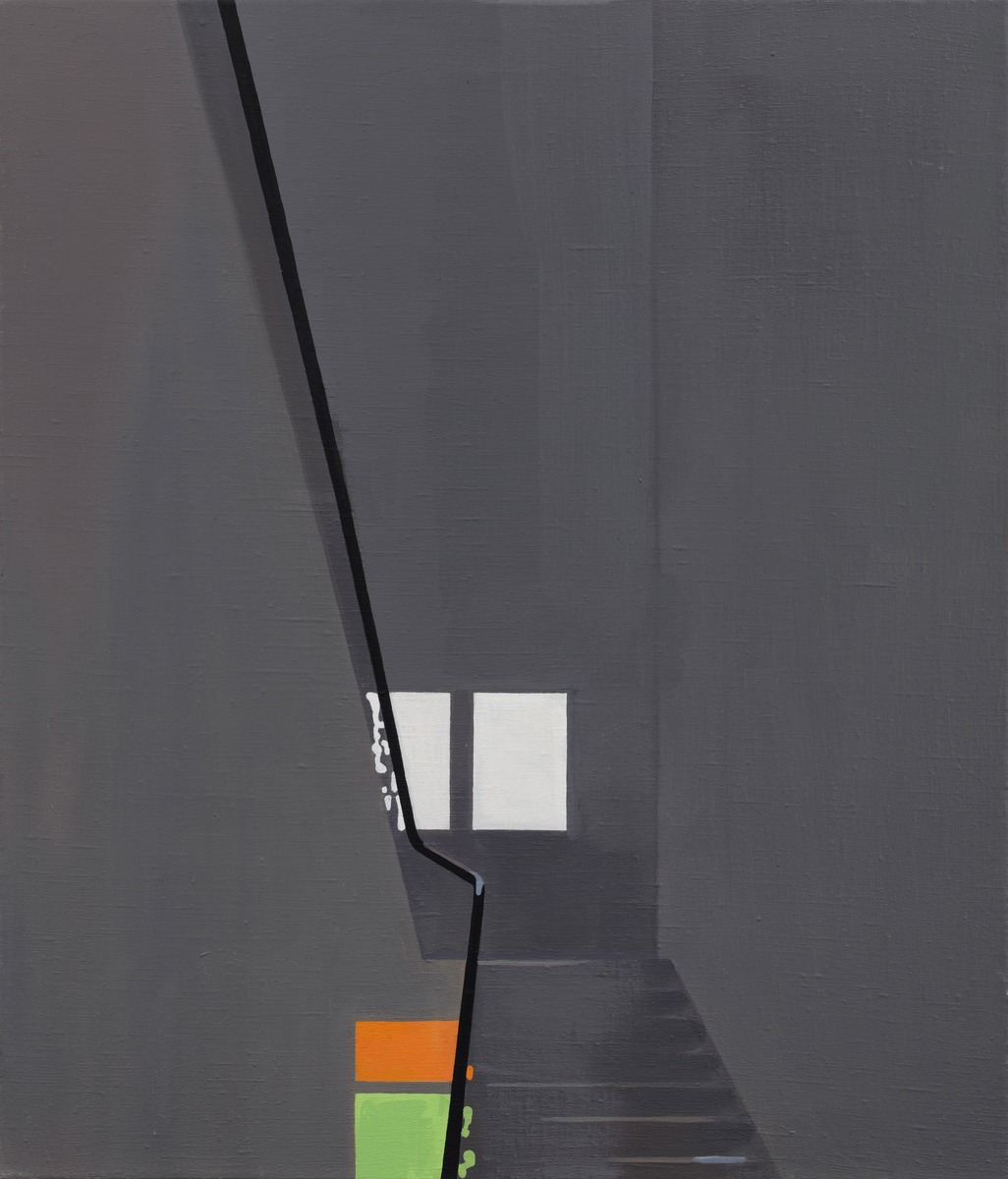 SVIT_Jan Merta_Chodba II (A Corridor II) 2012-2014_olej na plátně_70 x 60 cm
