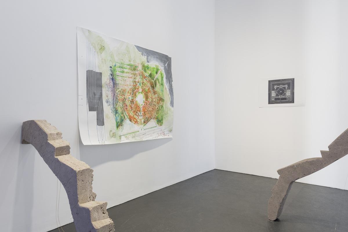 26_installation view_Picknick am Wegesrand_Dortmunder Kunstverein 2016_Foto Roland Baege