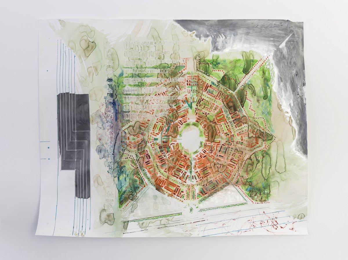 28_Martin Schepers_Idealstadt Heimat II, 2015_Picknick am Wegesrand_Dortmunder Kunstverein 2016_Foto Roland Baege