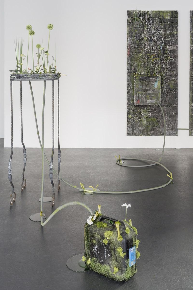 3_installation view_Picknick am Wegesrand_Dortmunder Kunstverein 2016_Foto Roland Baege