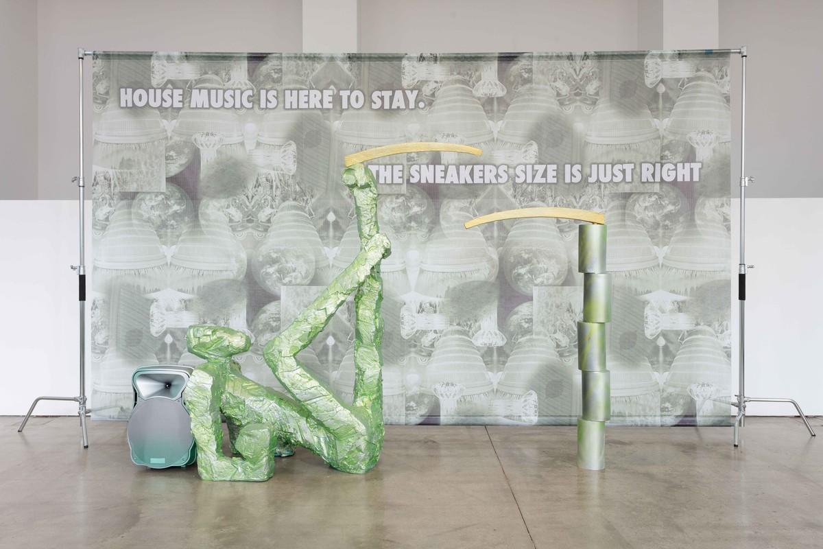 5 Marble Floor, Guan Xiao Flattened Metal ICA