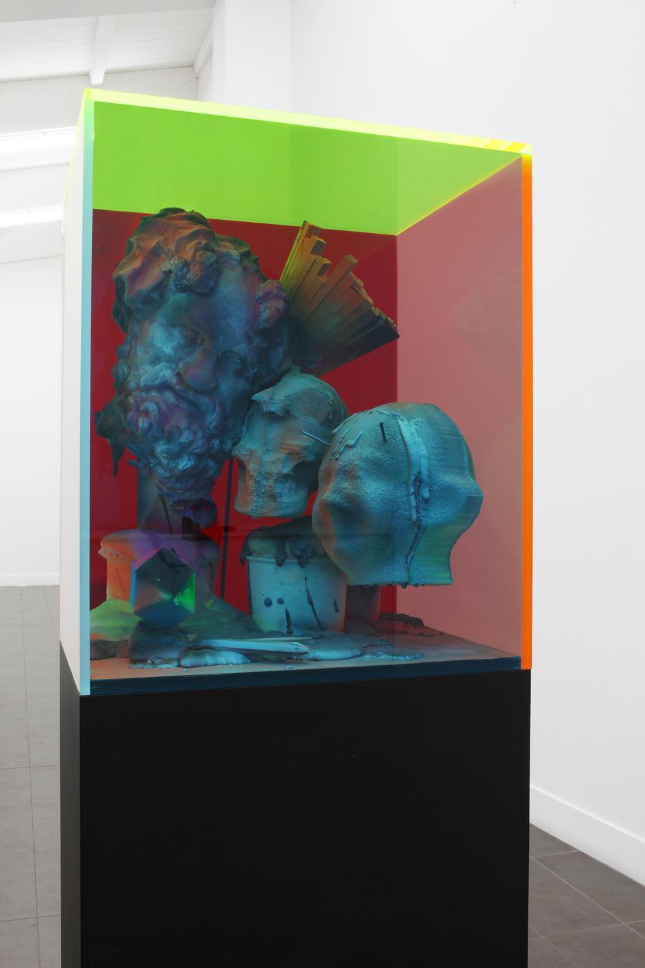 Folkert de Jong, Cold Fusion, 2015 detail