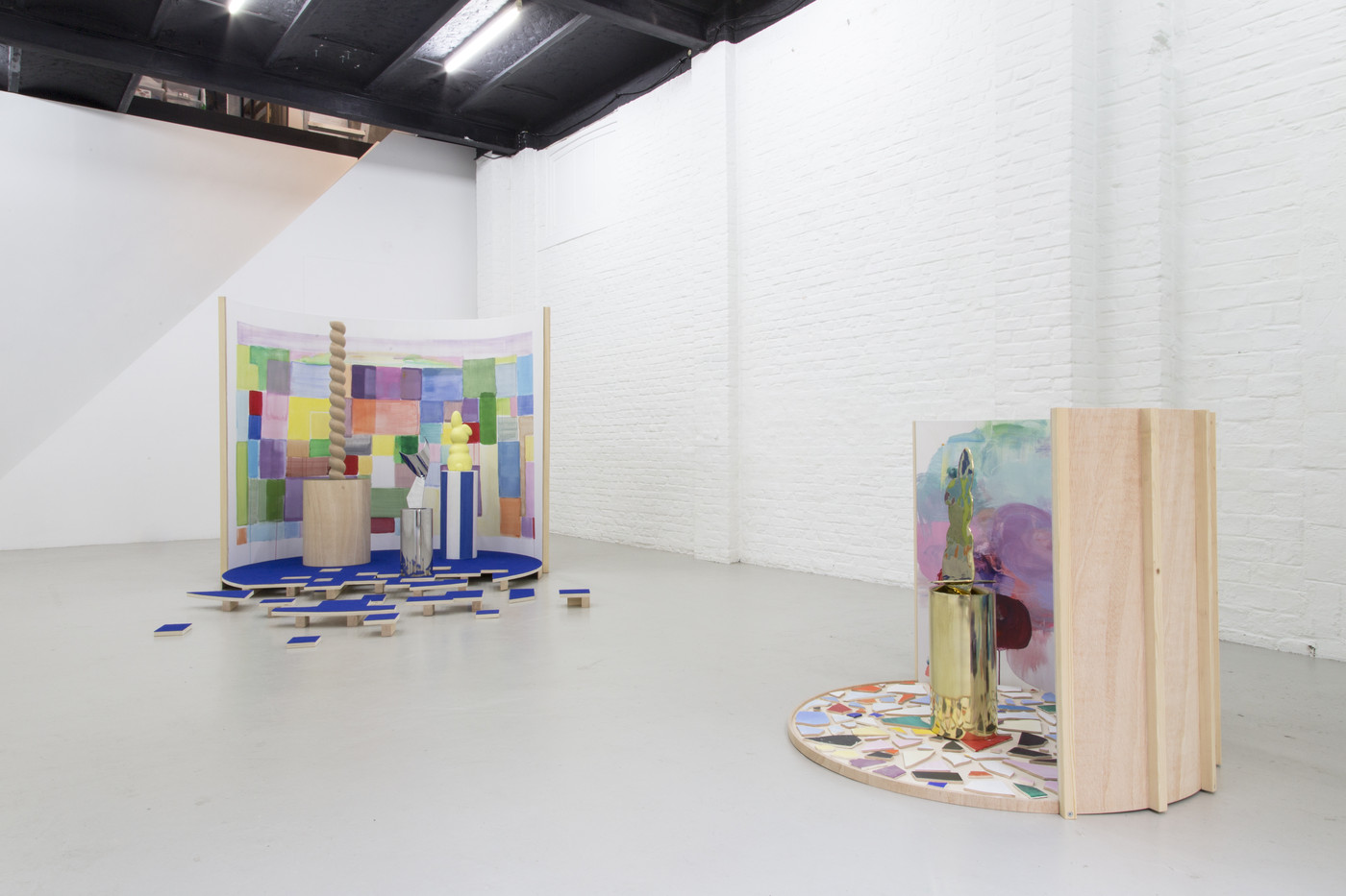 Nadia Naveau, I Spy With My Little Eye, 2016, installation view Bynnykins Square