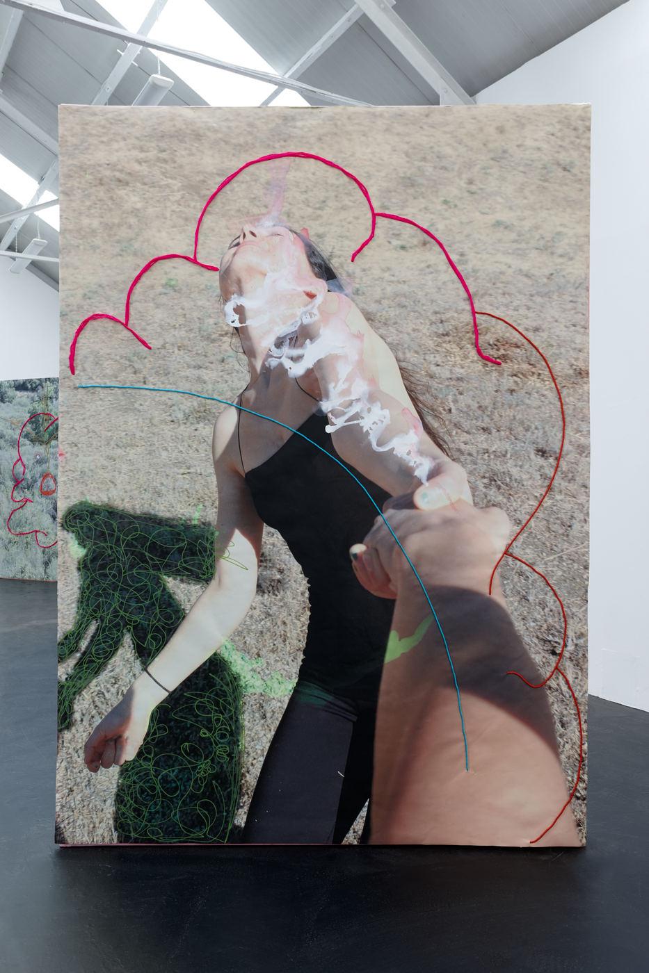 07. Nora Berman - I am a galactic activation portal (Calabasas spim), 2016 (ii)
