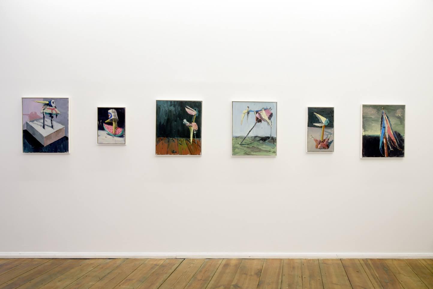 Fritz Bornstück, Vogelhaus Jazz III, 2016, installation view at Grimmuseum (2)