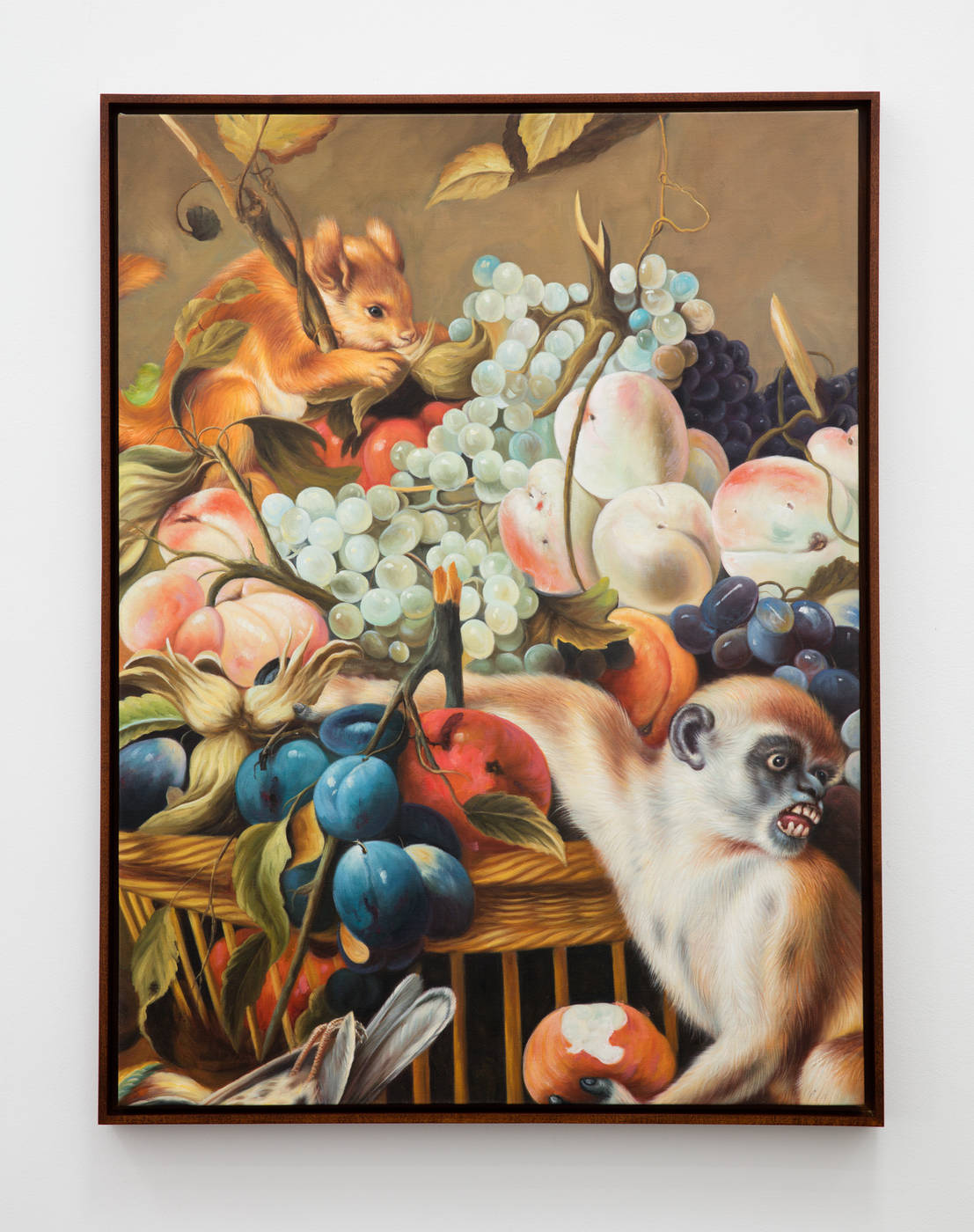 Ethan Cook - Monkey, squirrel and fruit