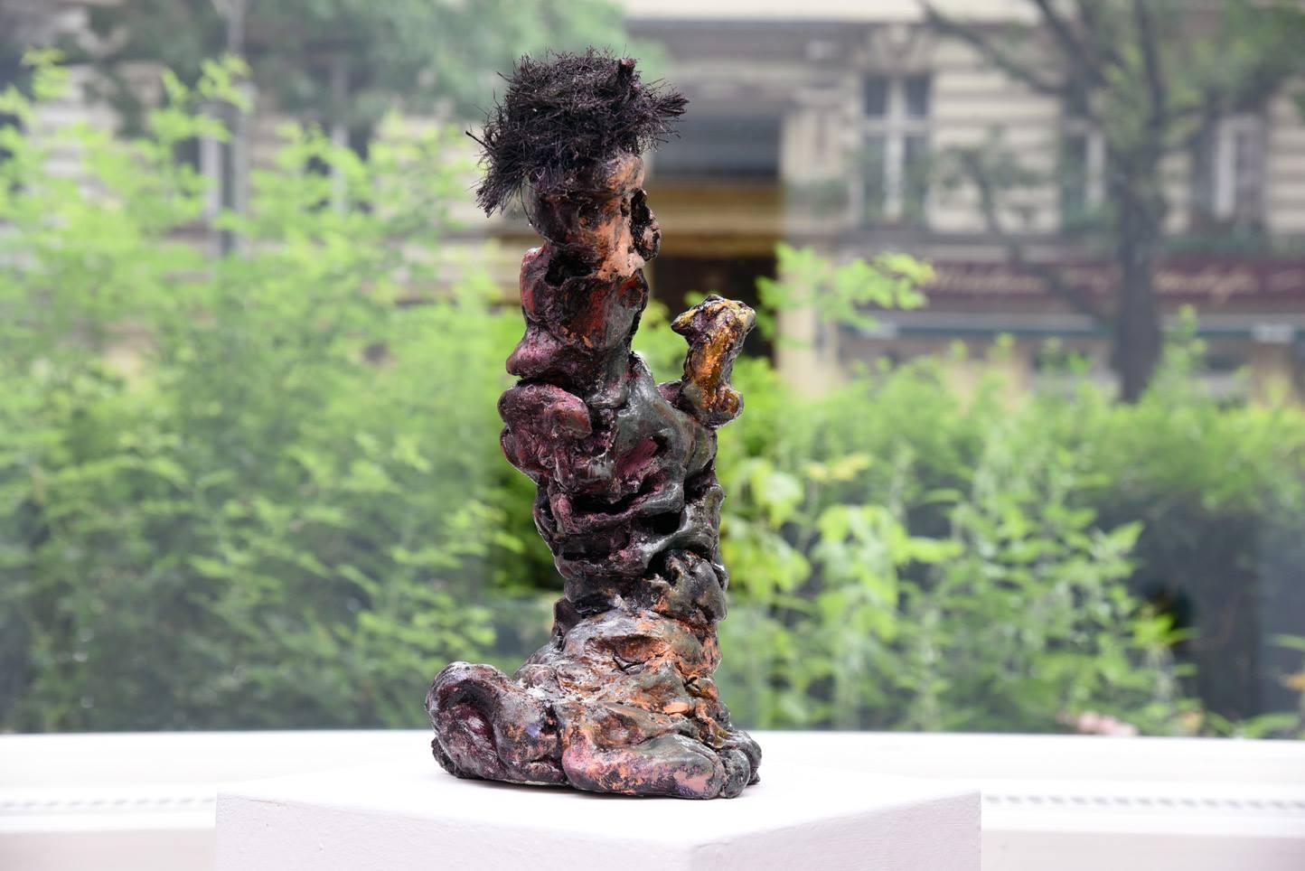Janes Schmallenberg, Entblößung, 2016, installation view at Grimmuseum (2)