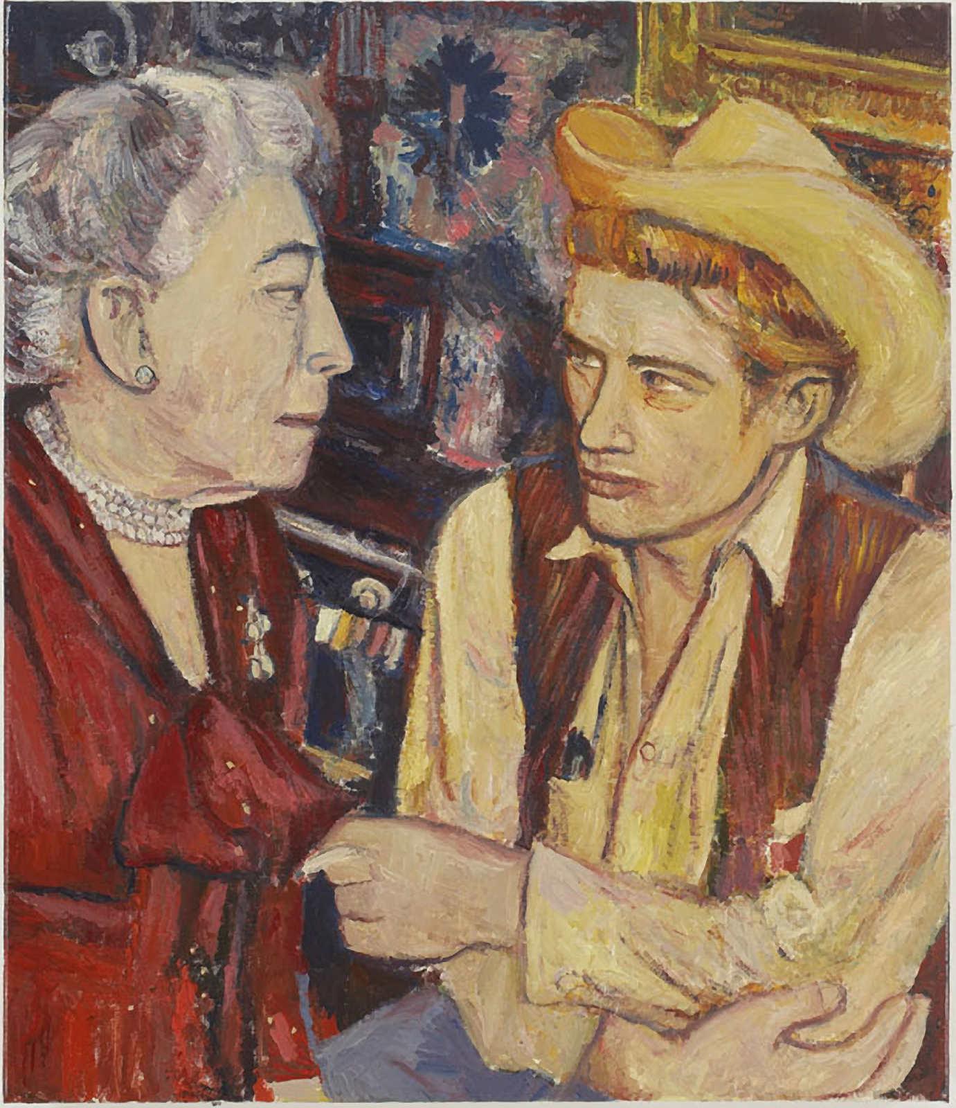 Edna Ferber and James Dean