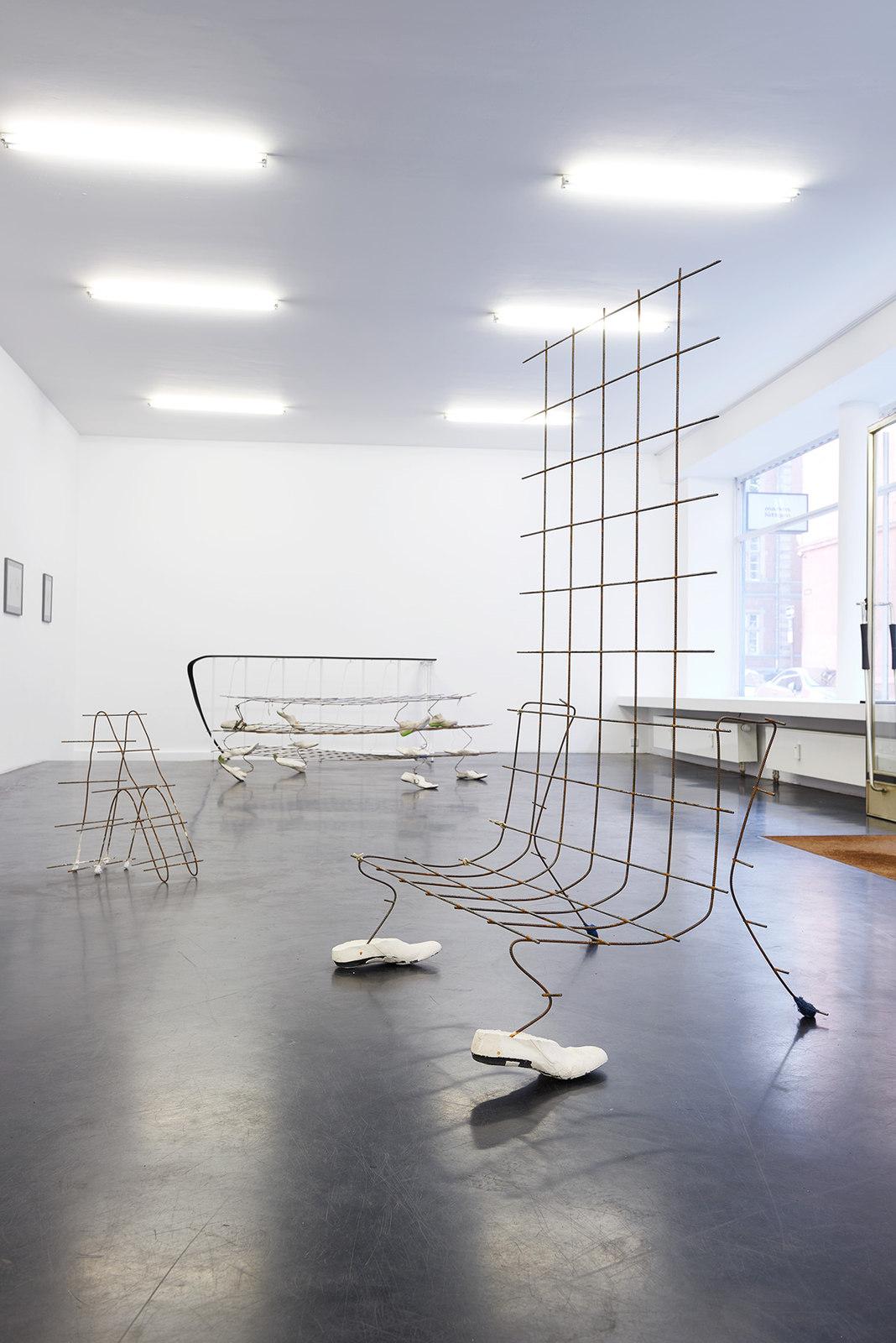 George Rippon Ich bin Hund Installation 4