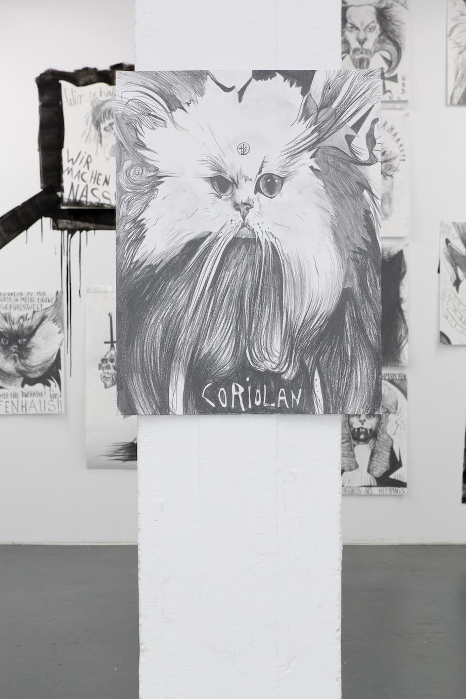 Installation View Thomas Palme PALM-CAT 666 2