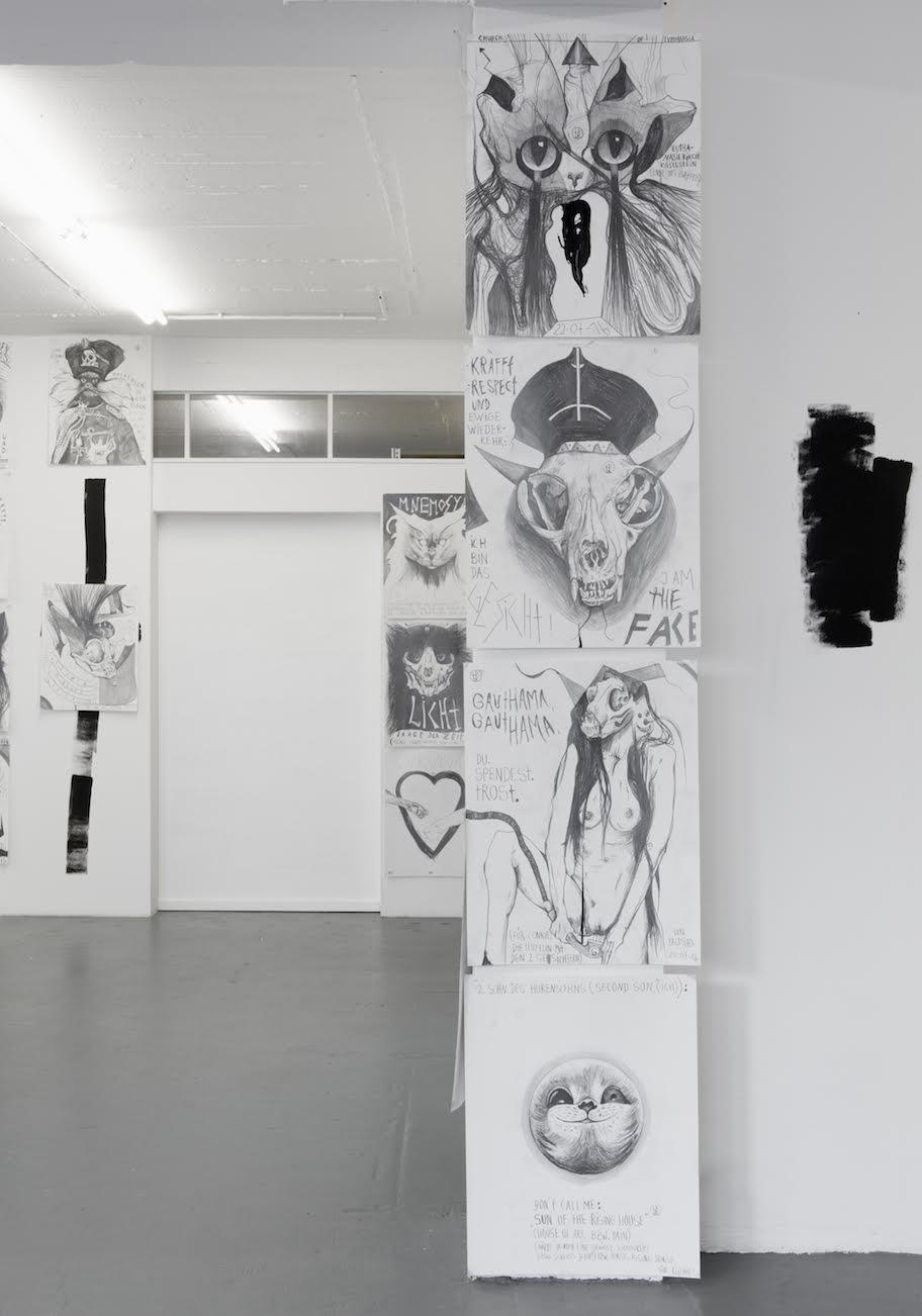 Installation View Thomas Palme PALM-CAT 666 7