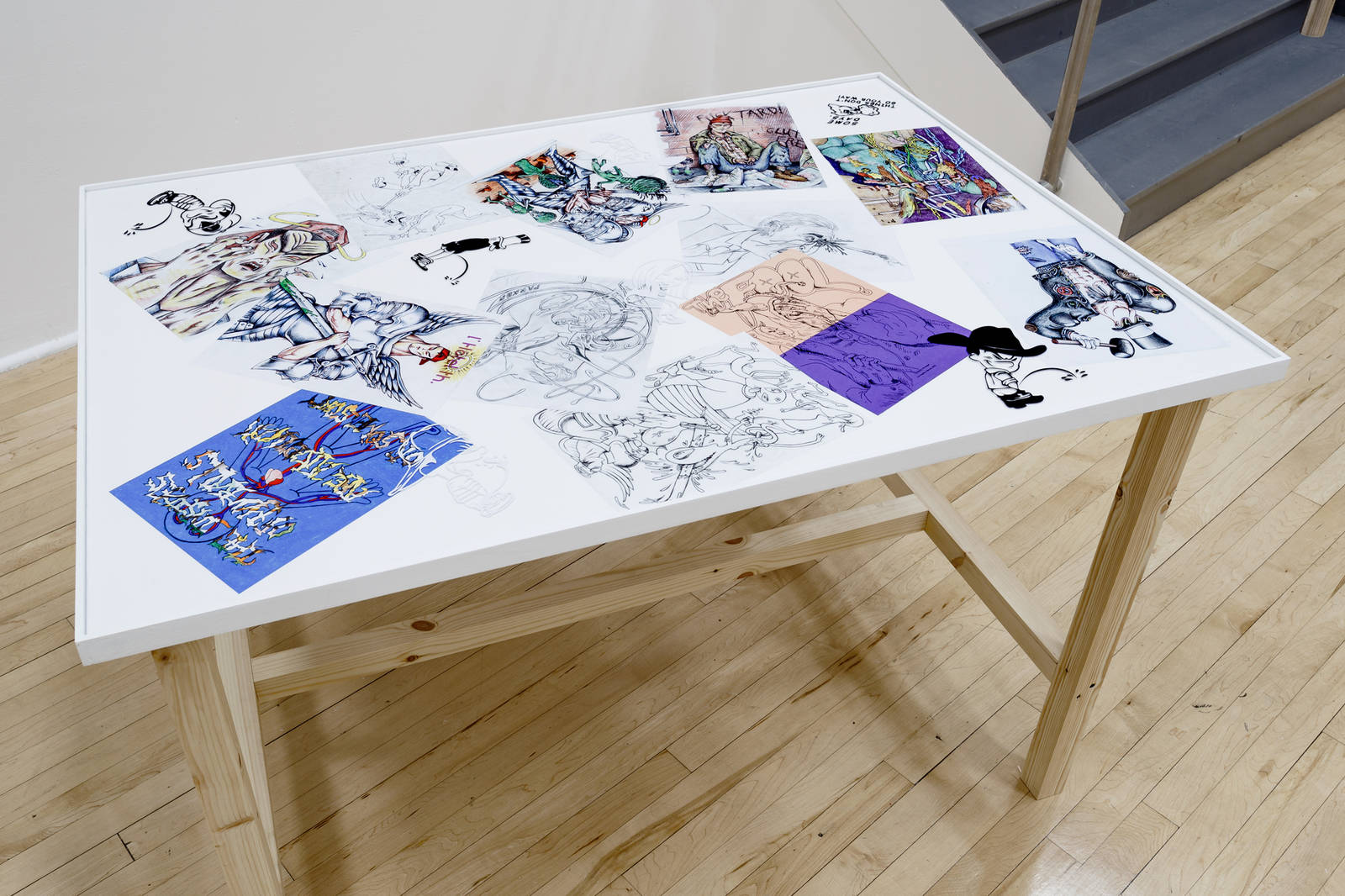 Parker Ito - Drawings (2013 -2015)