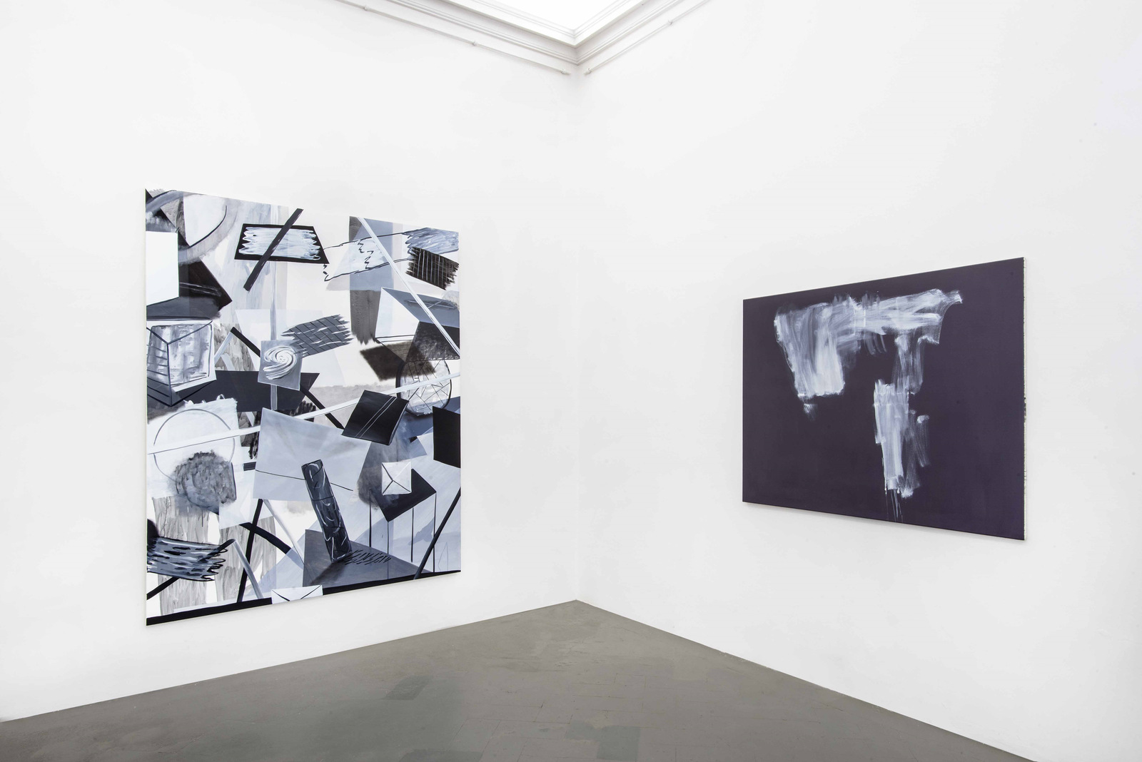 1.Installation View. Alice browne, Alexander Lieck. Courtesy of Eduardo Secci Contemporary
