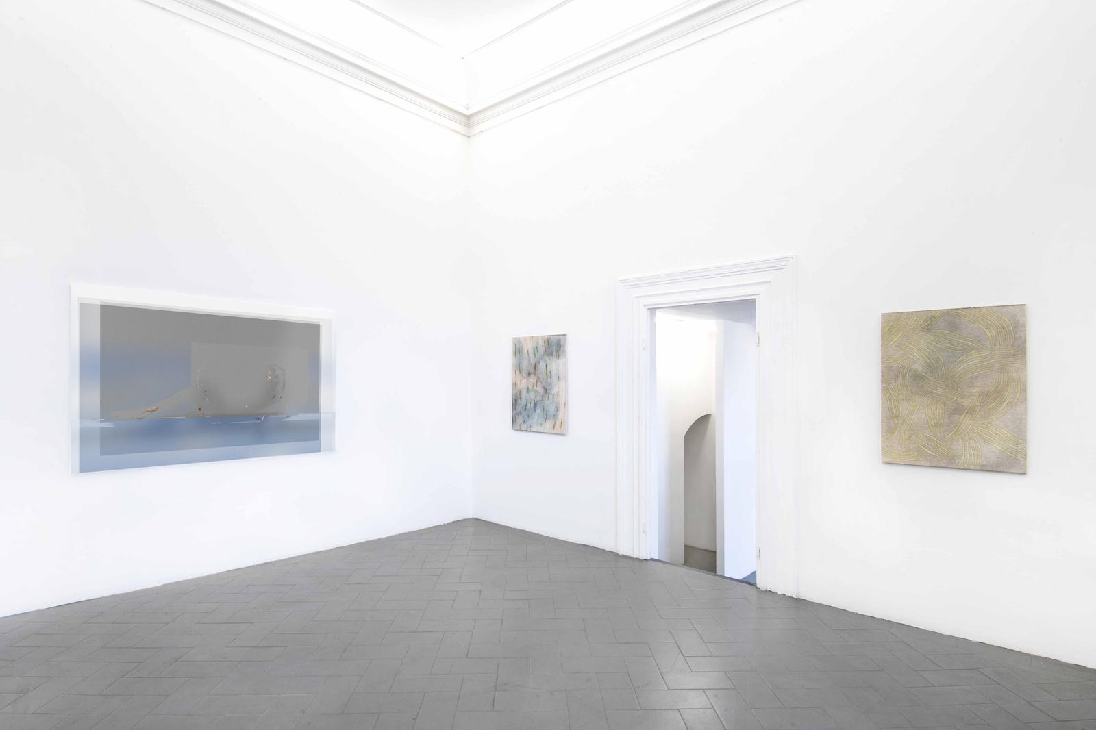 11.Installation View. Joshua Citarella, Hanna Hur. Courtesy of Eduardo secci Contemporary