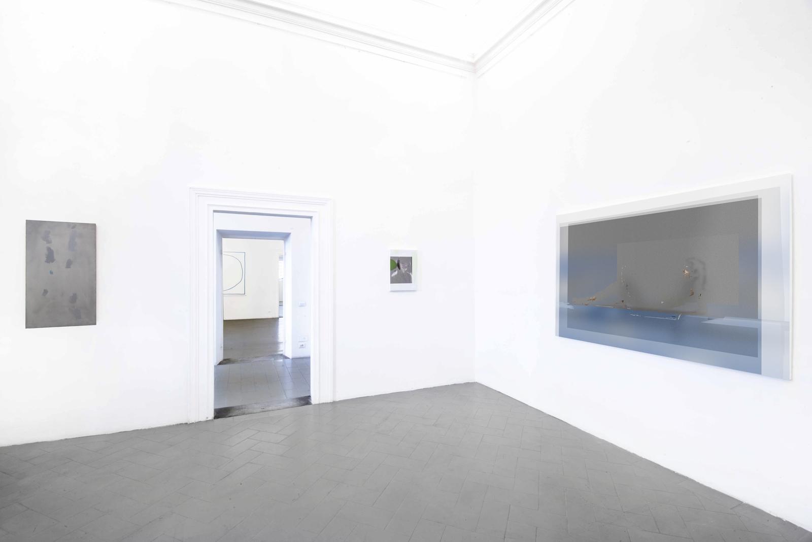 12.Installation View. Matthew Musgrave, Stephen Felton, Joshua Citarella. Courtesy of Eduardo Secci Contemporary