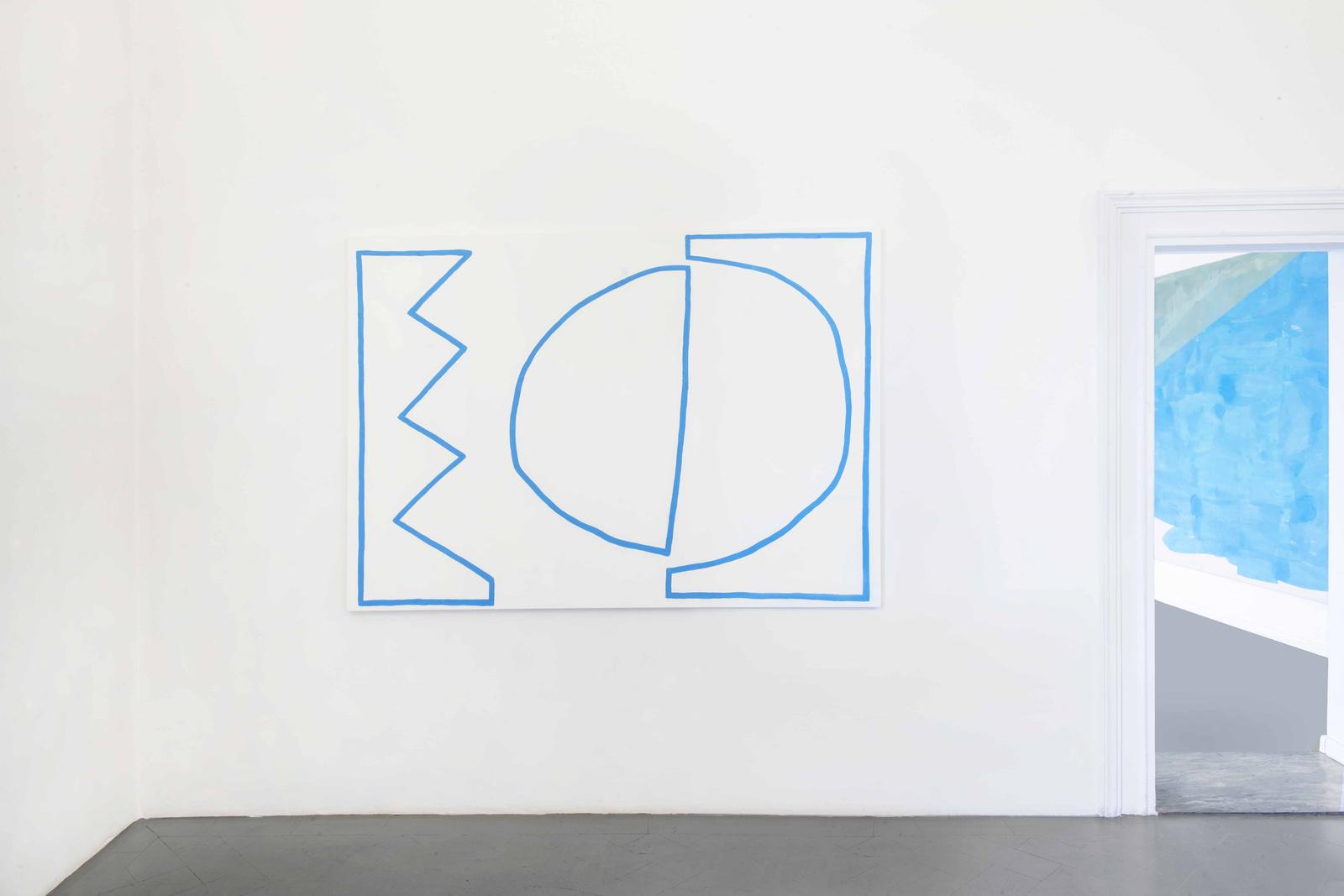 5.Installation View, Stephen felton, Tamina Amadyar. Courtesy of Eduardo Secci Contemporary